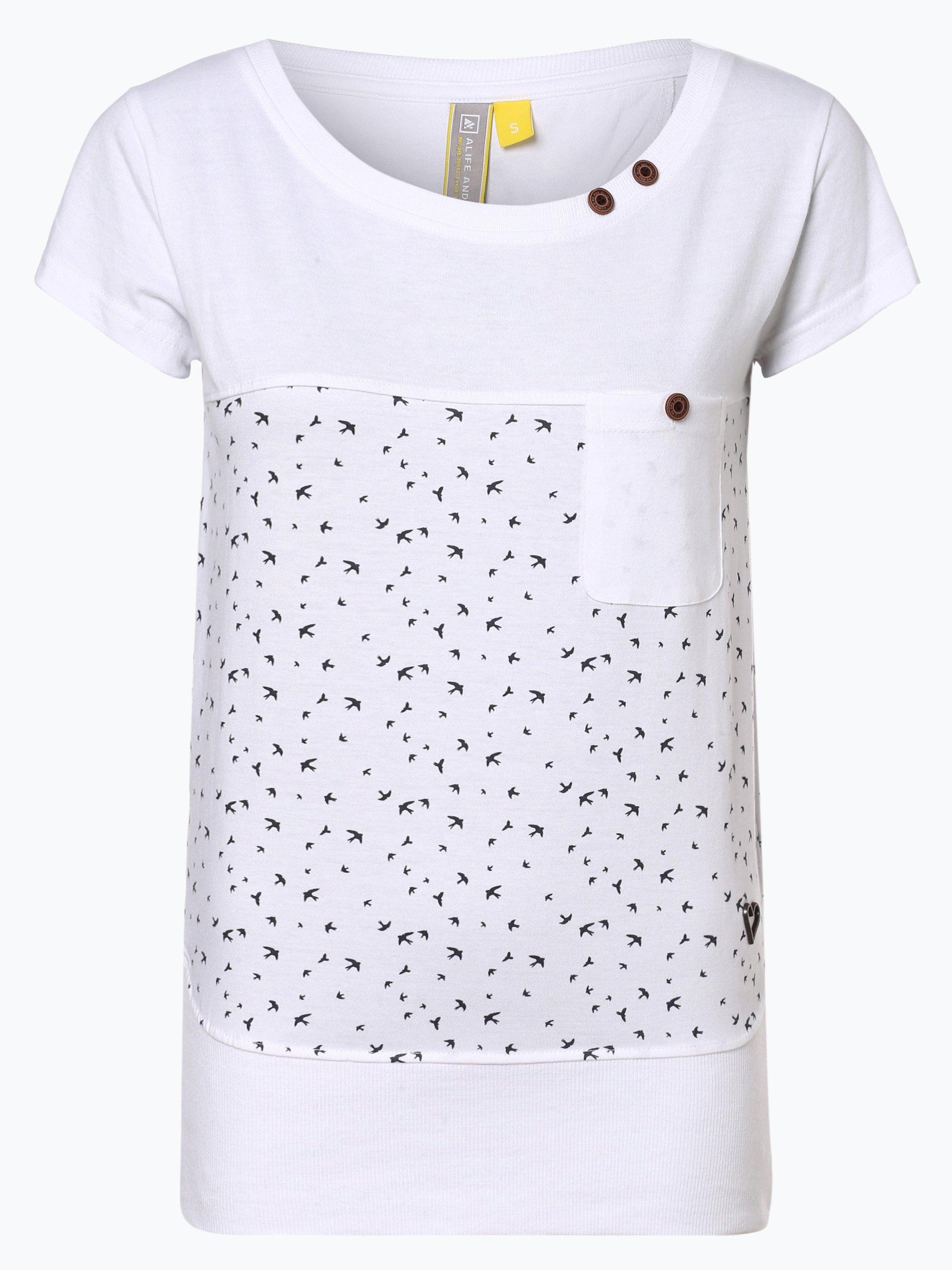 alife and kickin T-shirt damski – Cora A