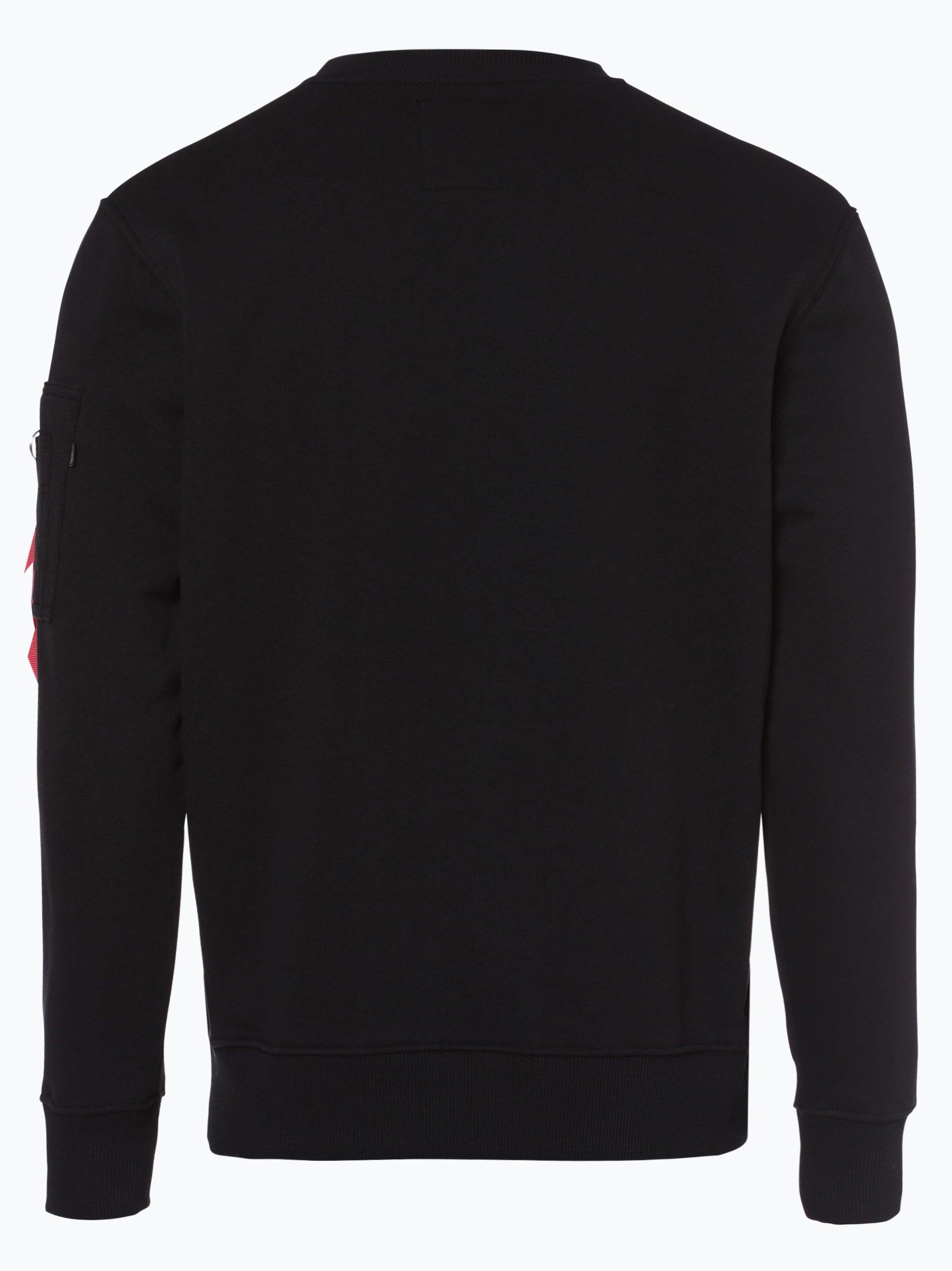 alpha industries herren sweatshirt schwarz gemustert. Black Bedroom Furniture Sets. Home Design Ideas