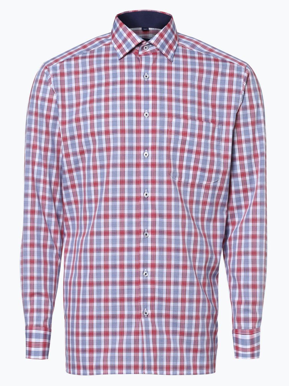 d954030b4e8700 Andrew James Herren Hemd Bügelfrei rot kariert online kaufen | PEEK ...