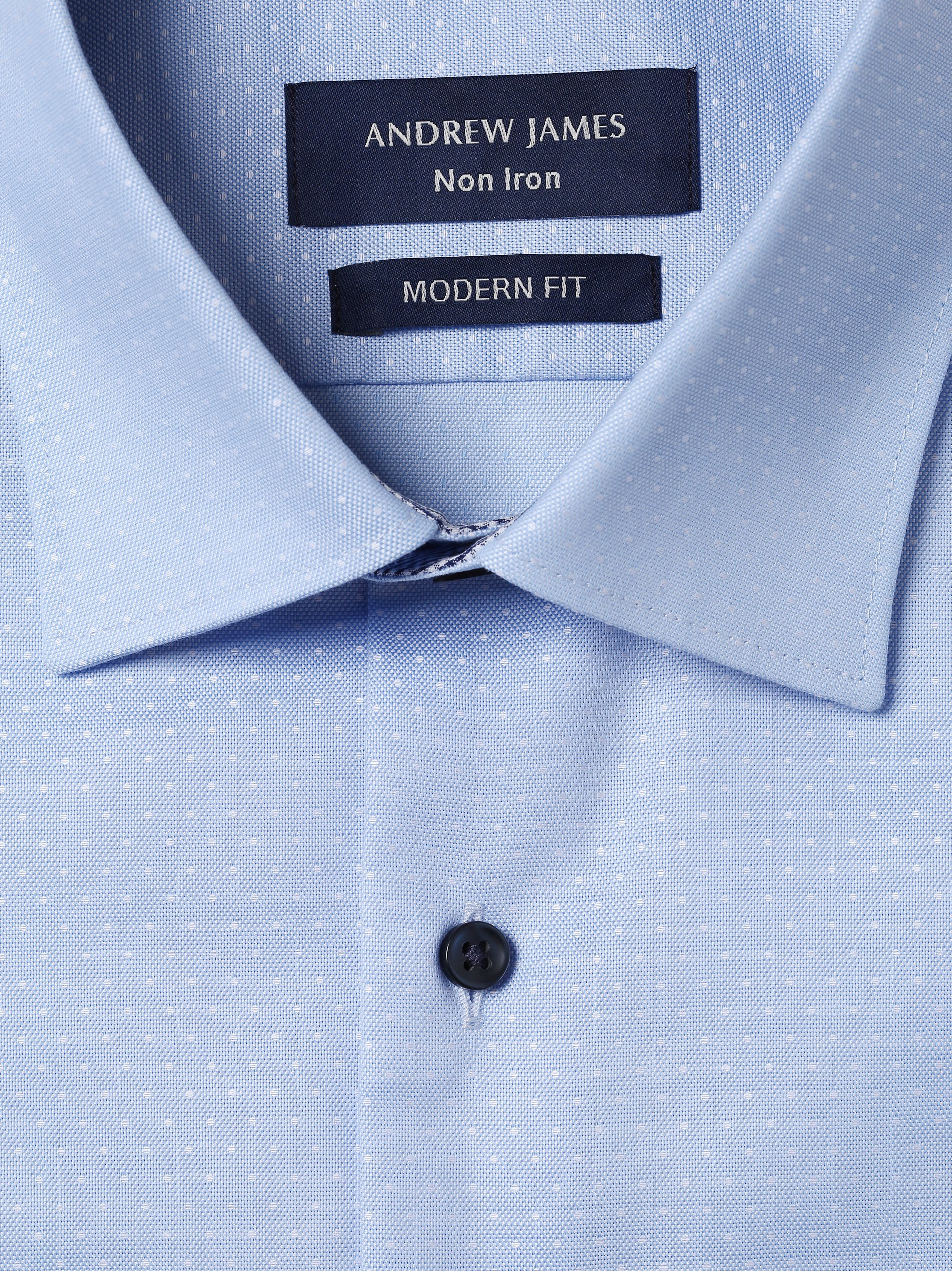 Andrew James Herren Hemd - Bügelfrei