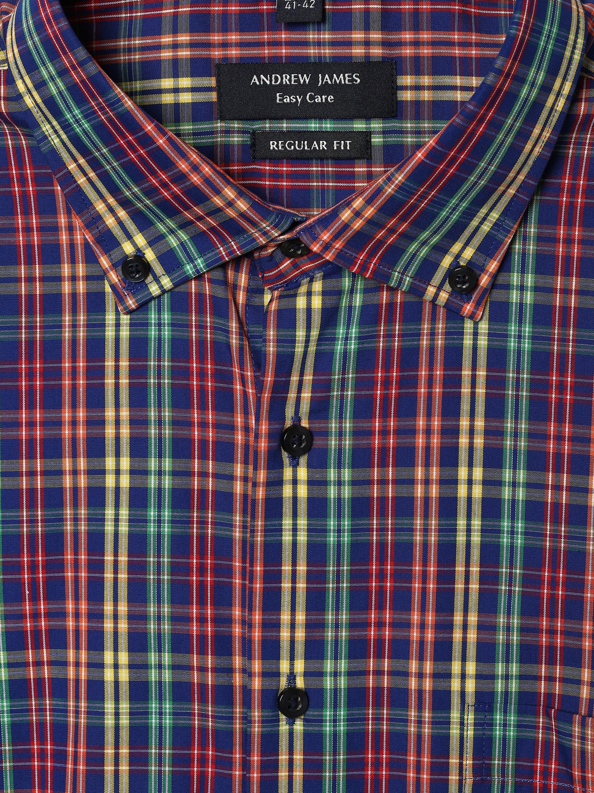 Andrew James Herren Hemd - Bügelleicht