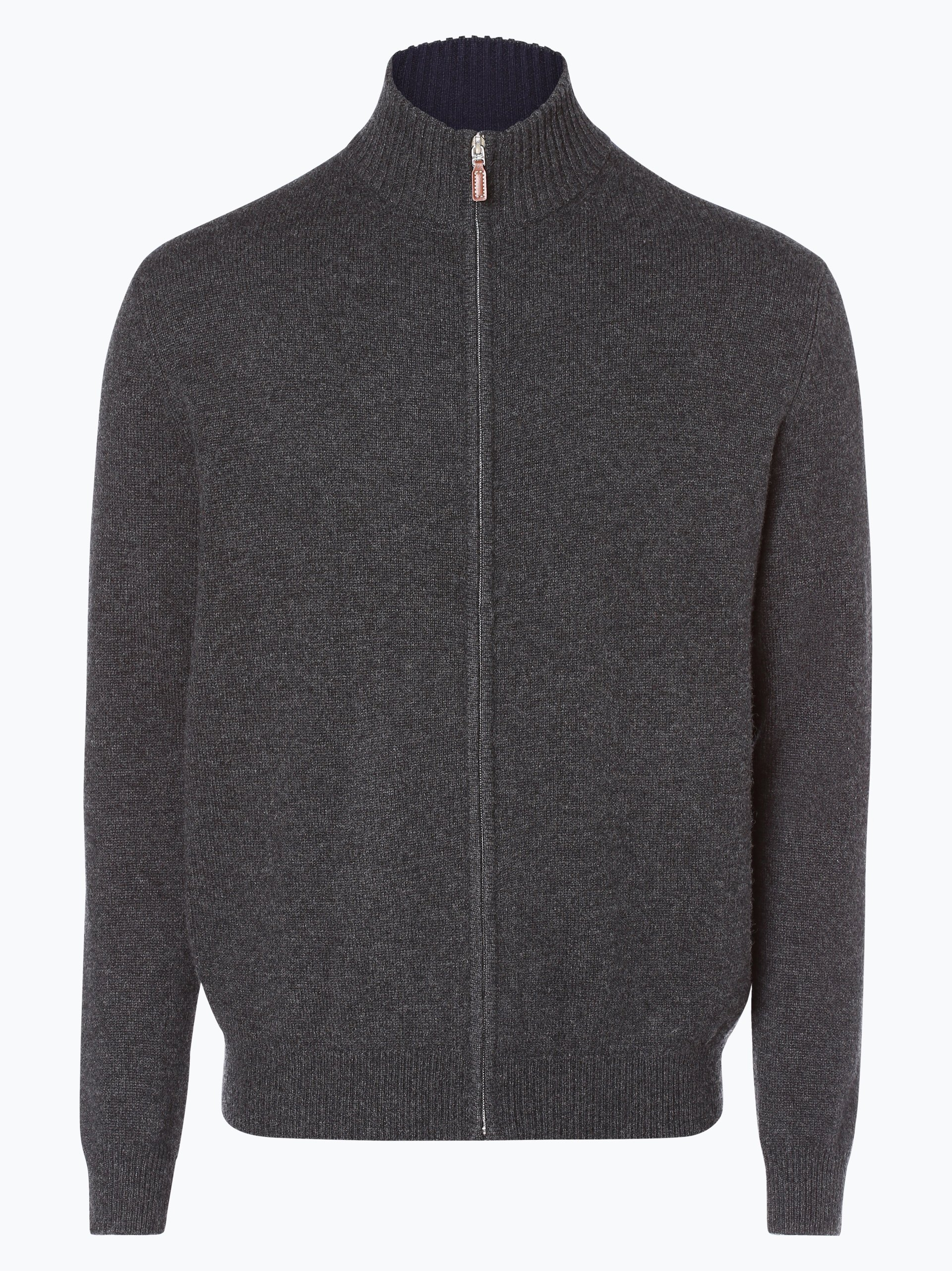 Andrew James Herren Pure Cashmere Strickjacke
