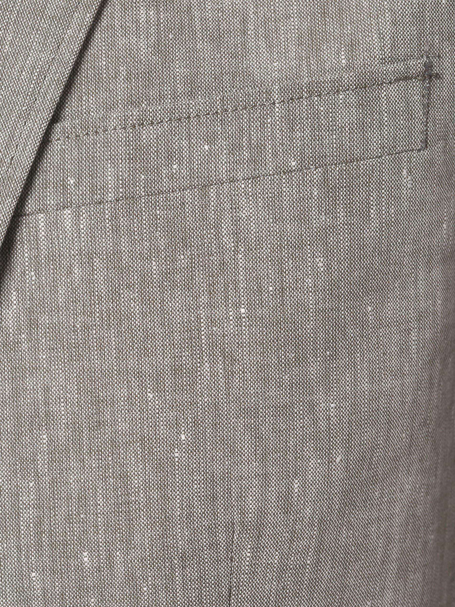 Andrew James Marynarka męska z dodatkiem lnu