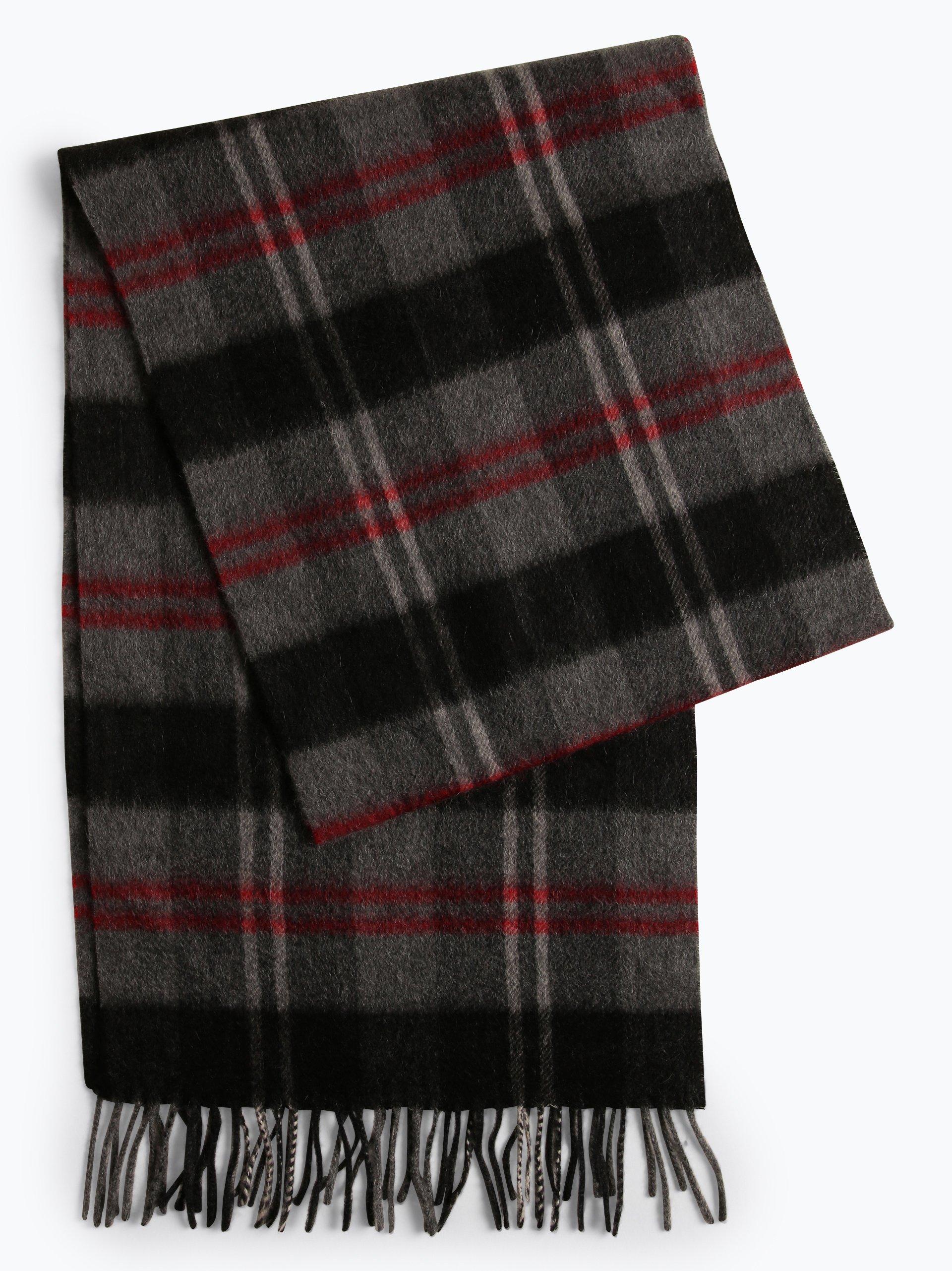 Andrew James Męski szalik z czystego kaszmiru