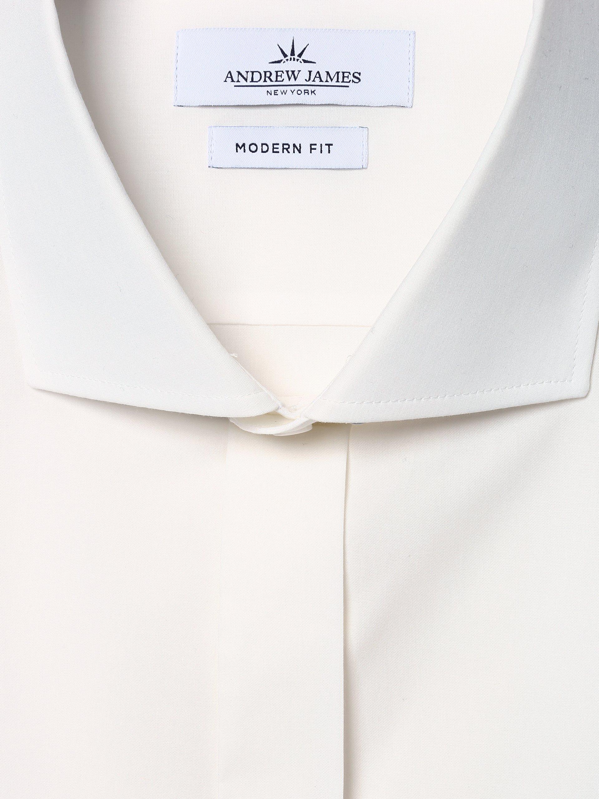 Andrew James New York Herren Hemd mit Umschlagmanschetten - Marshall