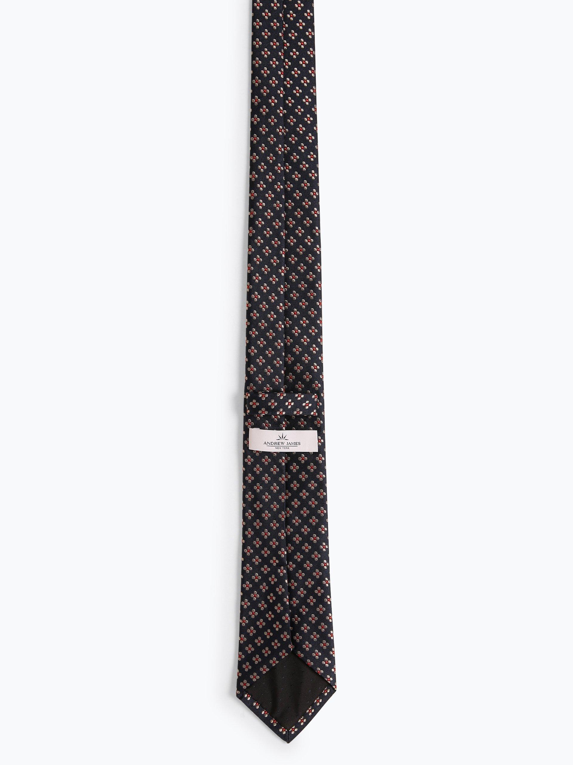 Andrew James New York Herren Krawatte aus Seide