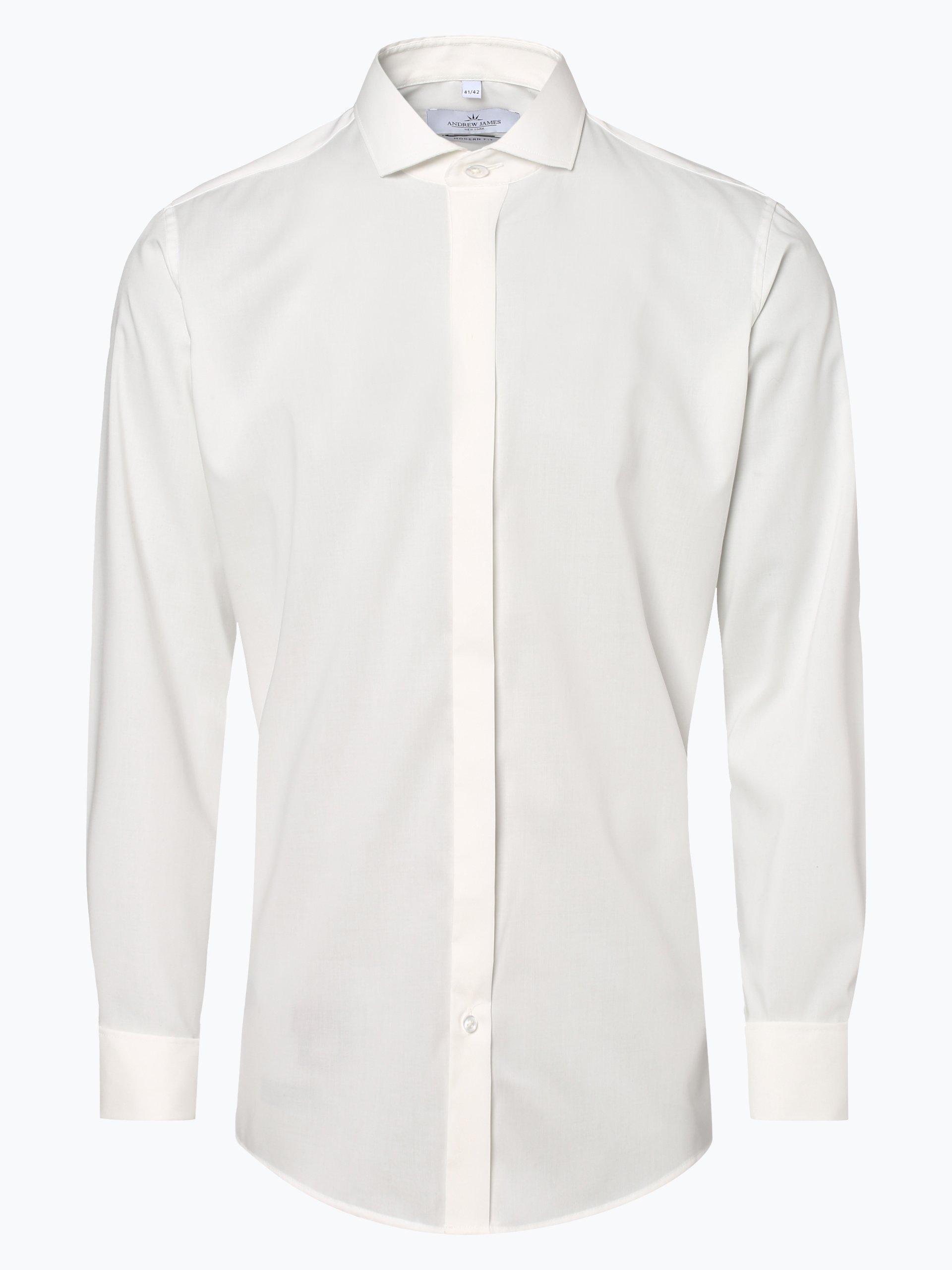 Andrew James New York Koszula męska z wywijanymi mankietami – Marshall