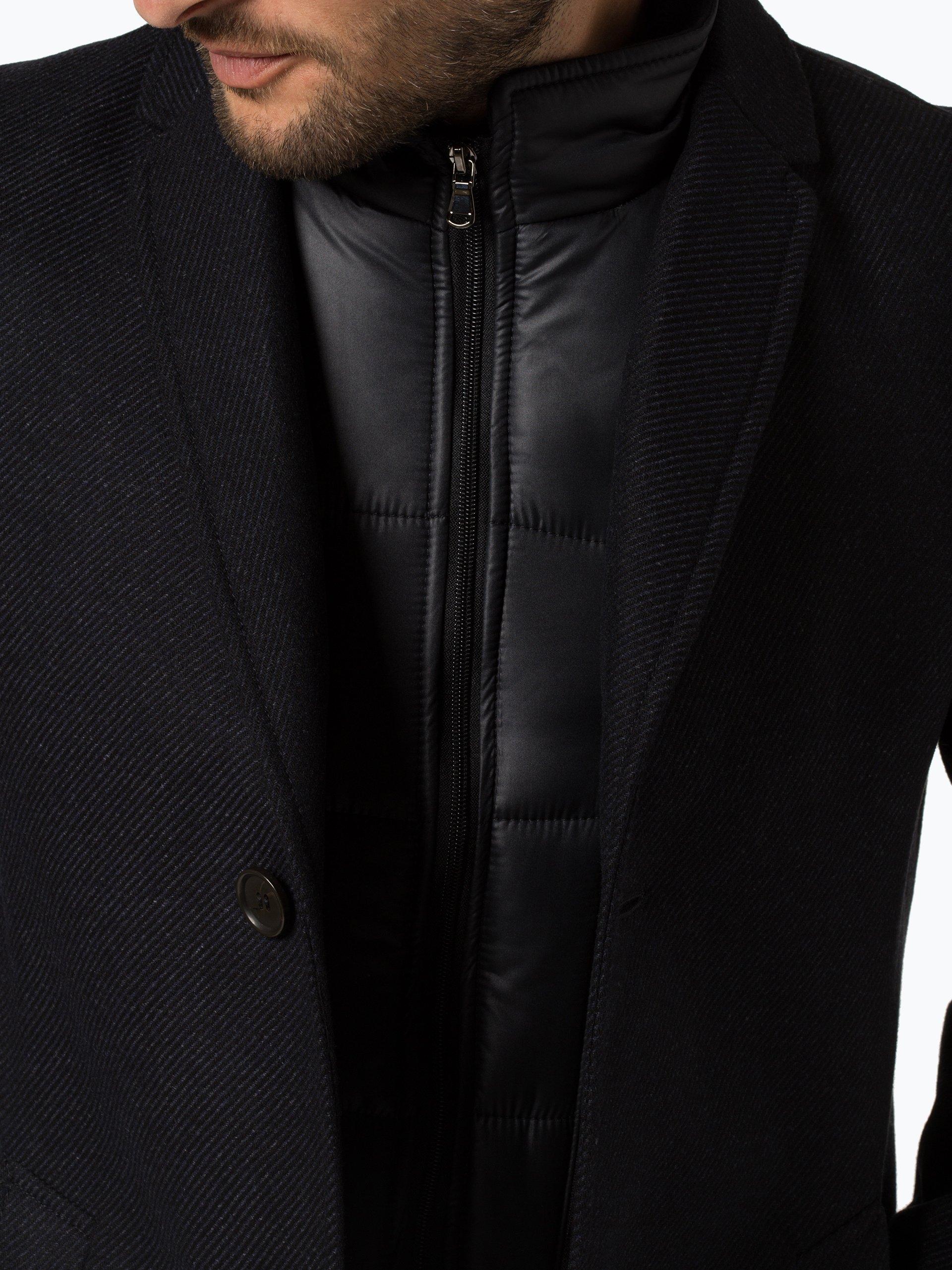 Andrew James Płaszcz męski z dodatkiem kaszmiru