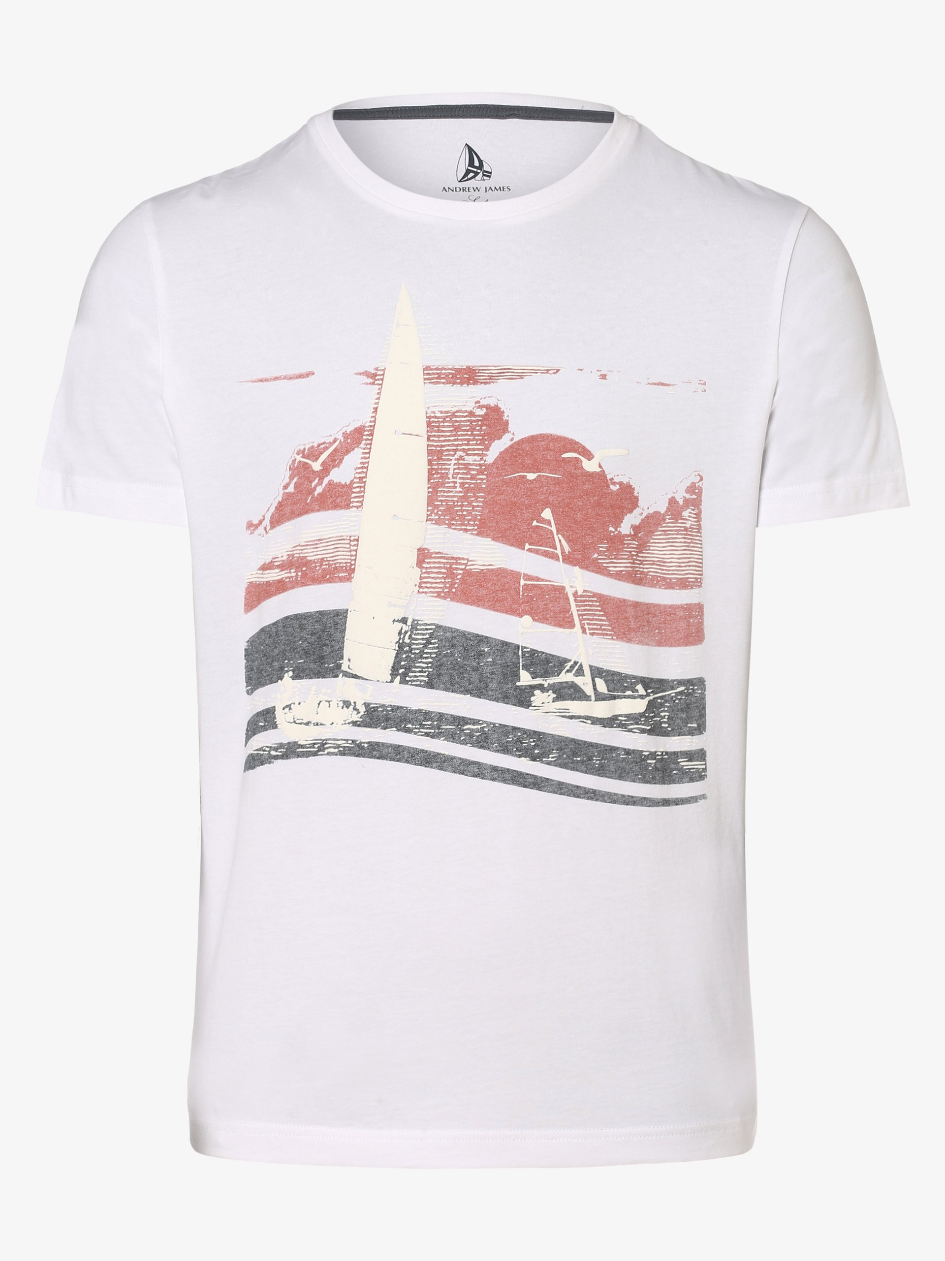 Andrew James Sailing T-shirt męski