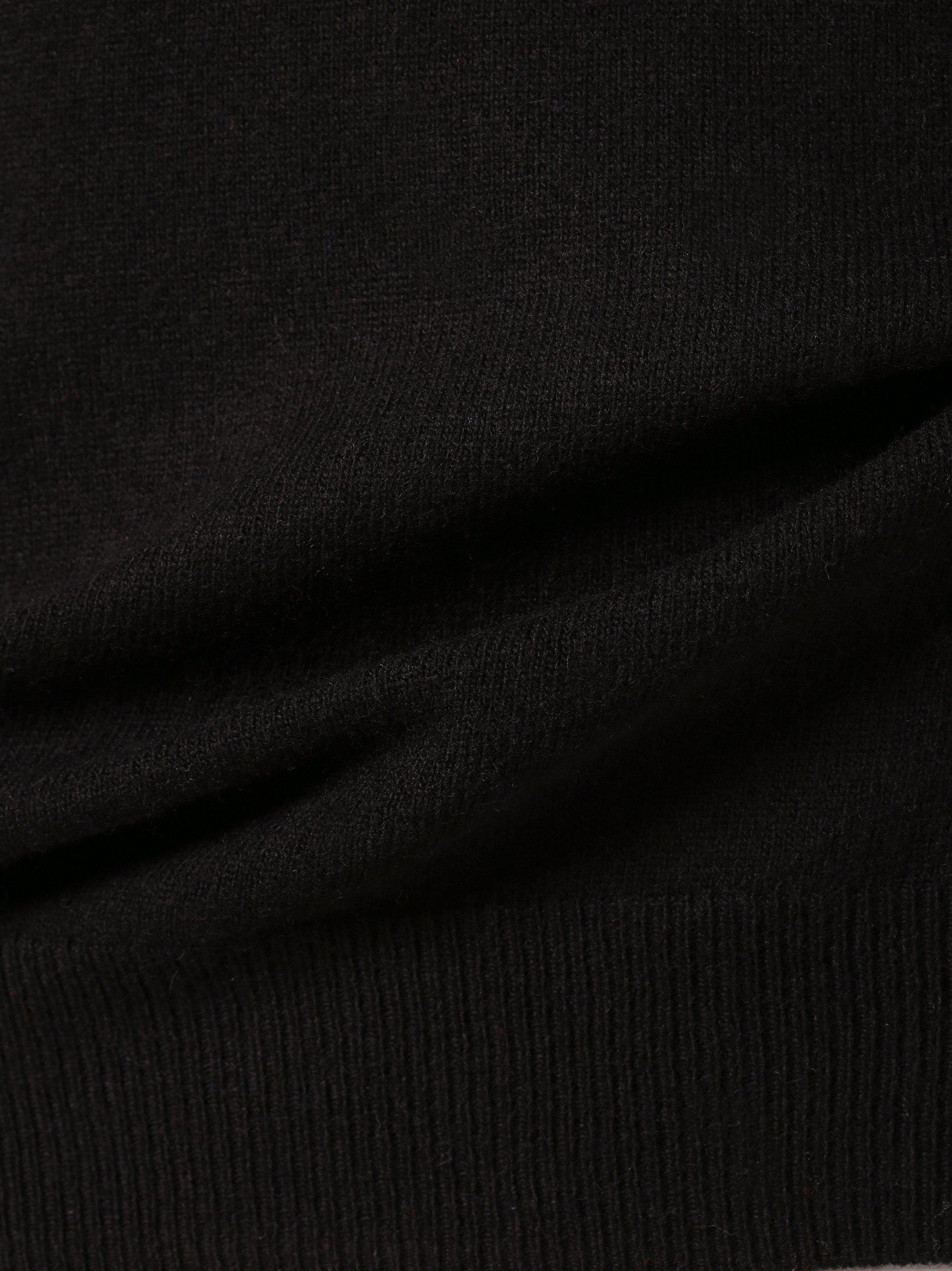 Andrew James Sweter męski z dodatkiem kaszmiru