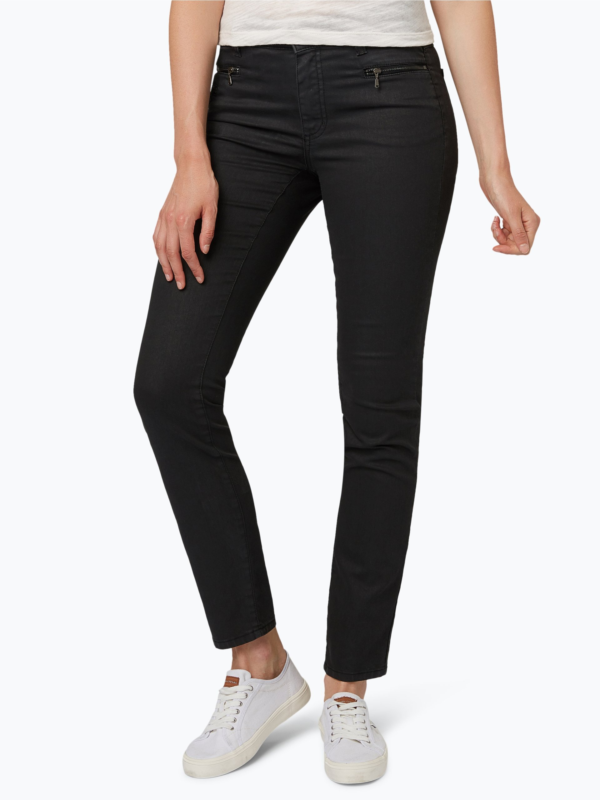 angels damen jeans malu rv schwarz uni online kaufen. Black Bedroom Furniture Sets. Home Design Ideas