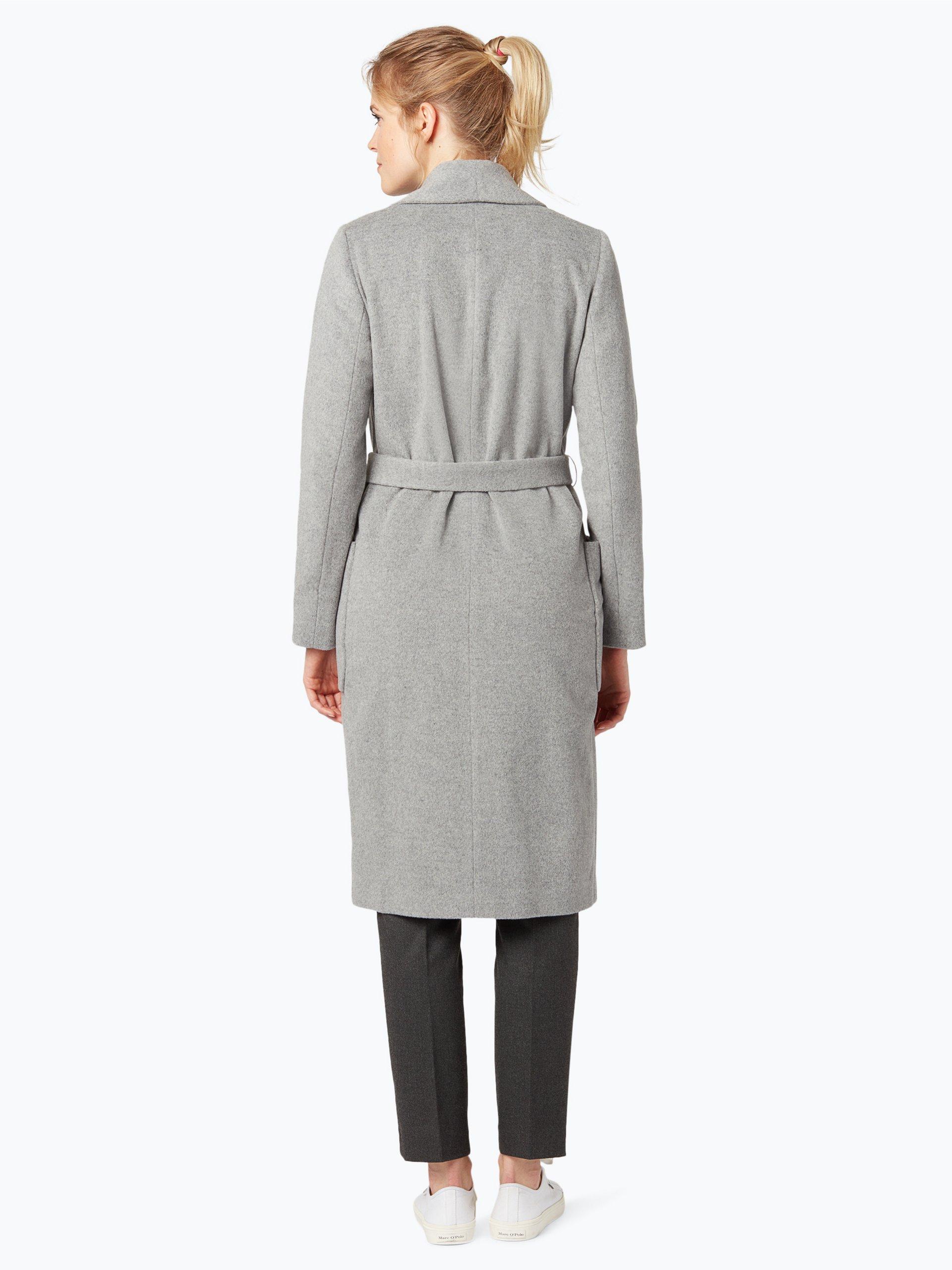 apriori damen mantel mit cashmere anteil coordinates grau uni online kaufen peek und. Black Bedroom Furniture Sets. Home Design Ideas