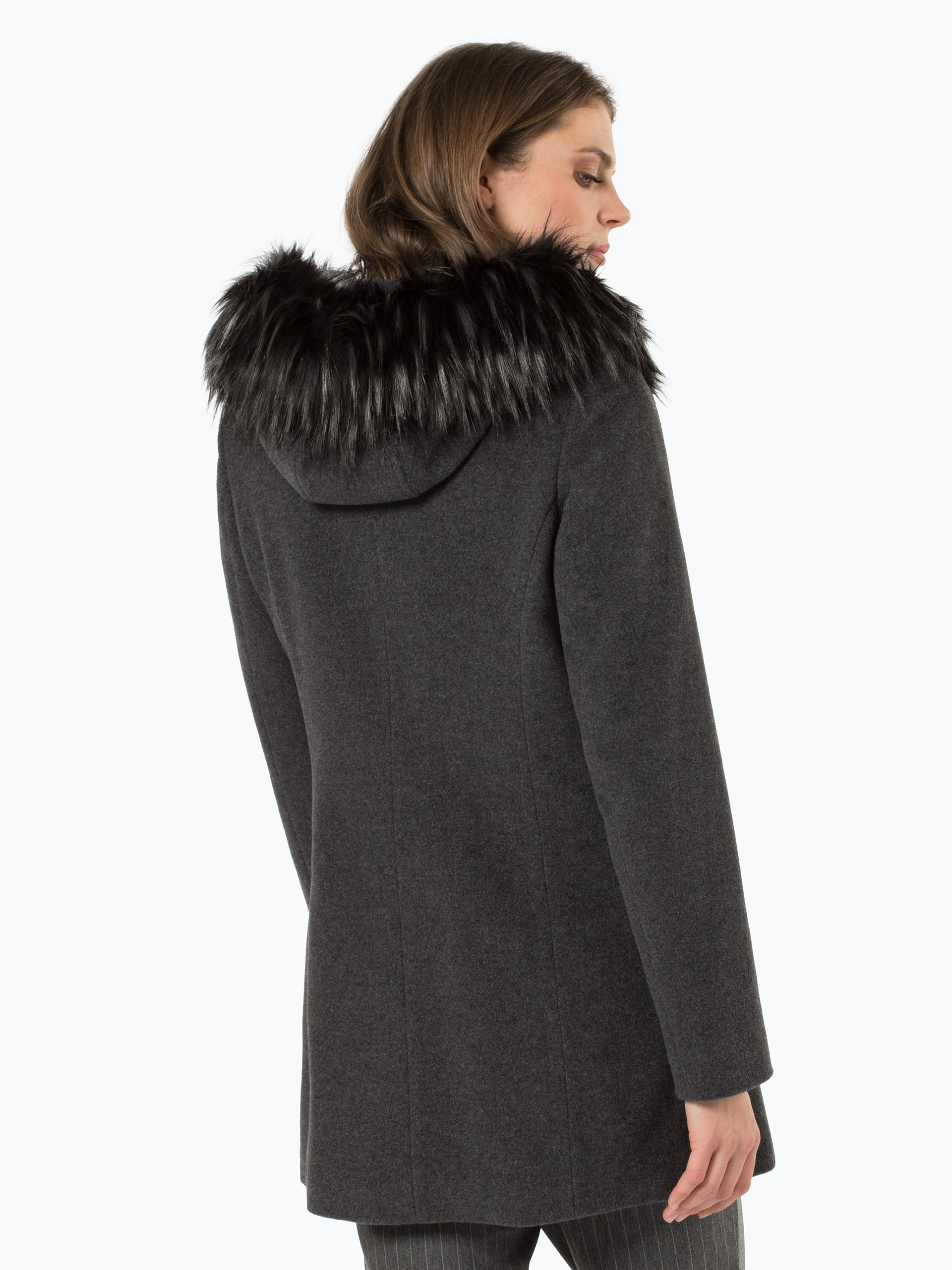 apriori damen mantel mit cashmere anteil grau uni online kaufen peek und cloppenburg de. Black Bedroom Furniture Sets. Home Design Ideas