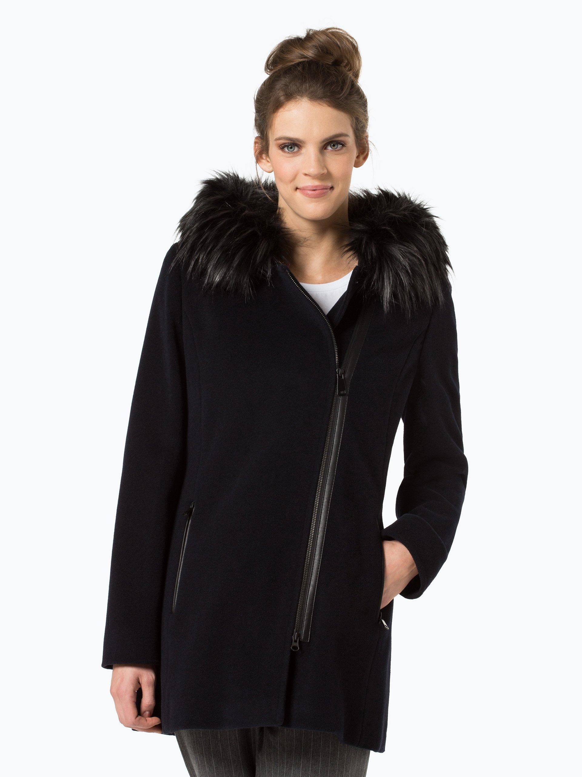 apriori damen mantel mit cashmere anteil marine uni online kaufen peek und cloppenburg de. Black Bedroom Furniture Sets. Home Design Ideas