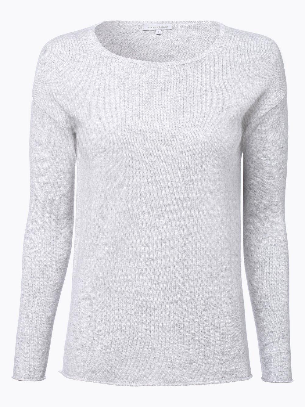Neues Produkt 89afa 1c75e Apriori Damen Pure Cashmere Pullover silber grau uni online ...