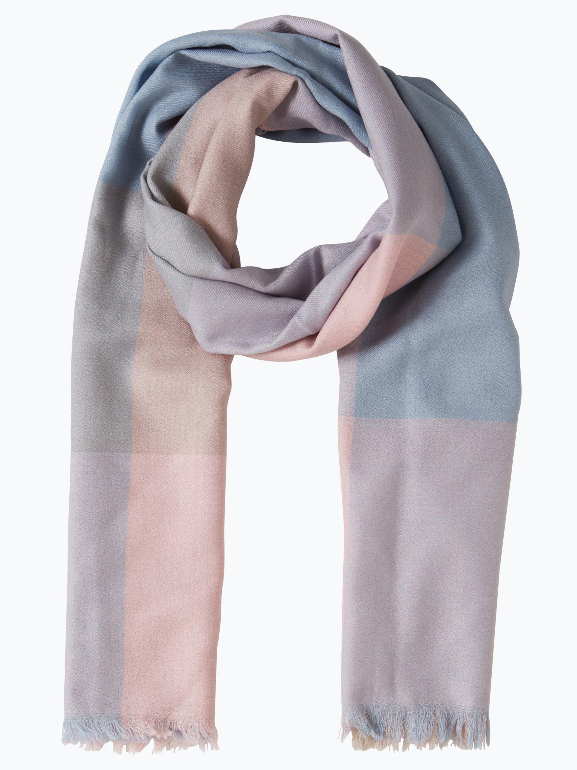 Apriori damen schal rosa kariert online kaufen peek und for Schal binden damen