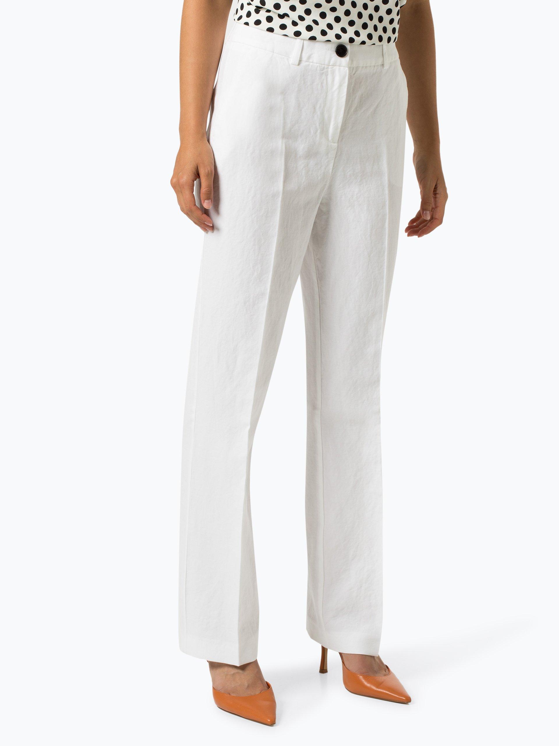 Apriori Spodnie damskie z dodatkiem lnu – Coordinates