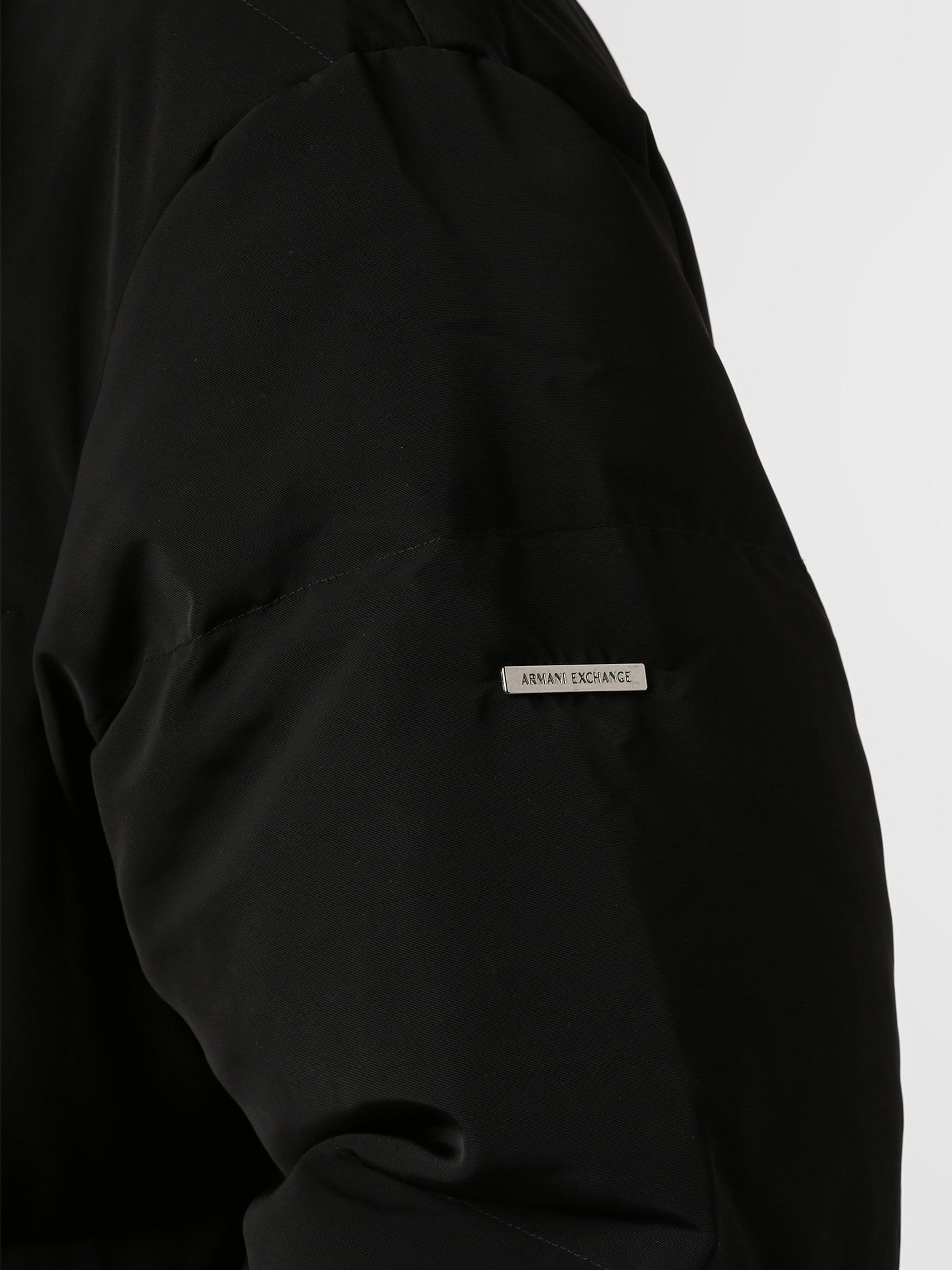 Armani Exchange Męski płaszcz puchowy