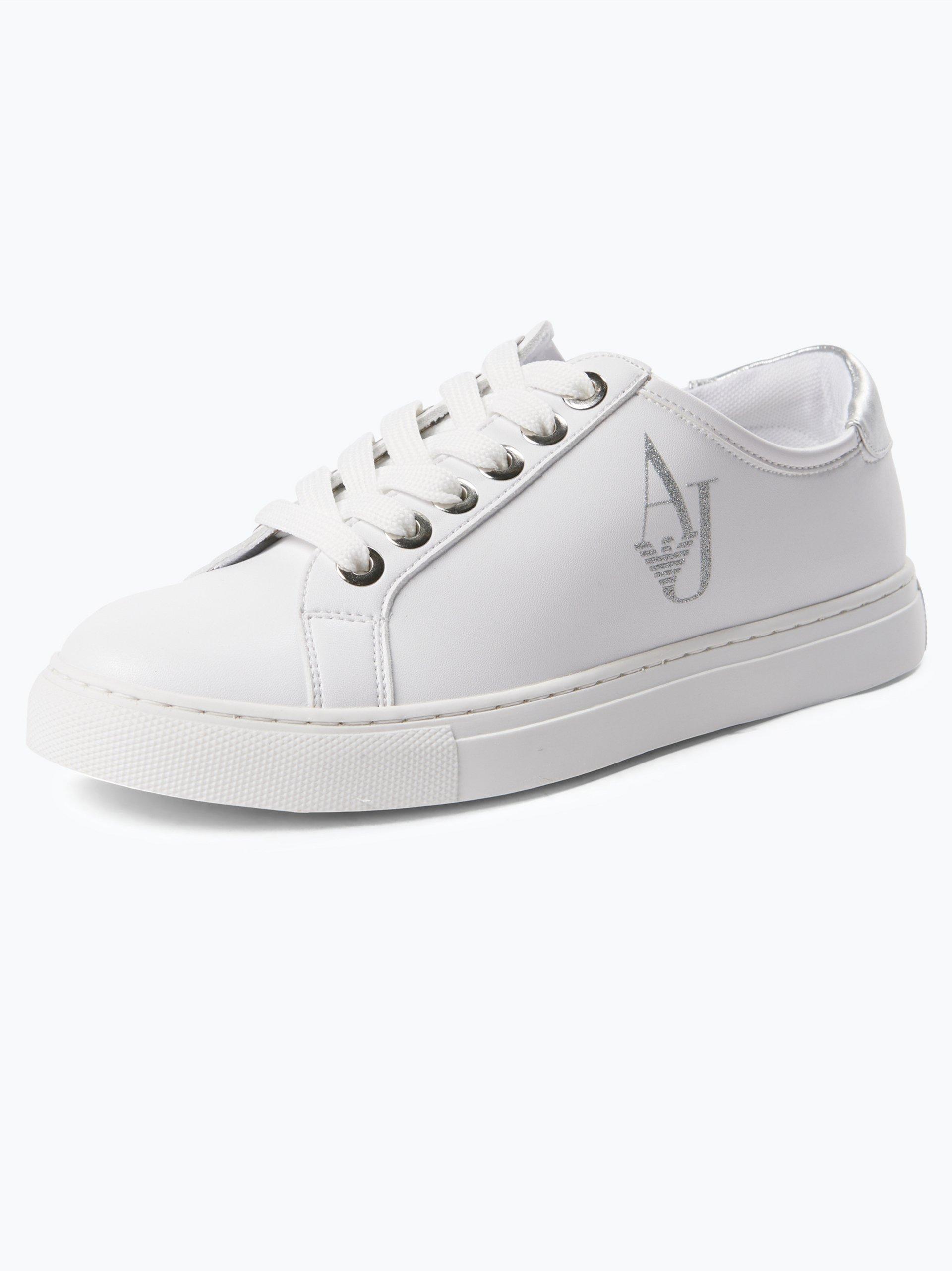 Armani Jeans Damen Sneaker in Leder-Optik