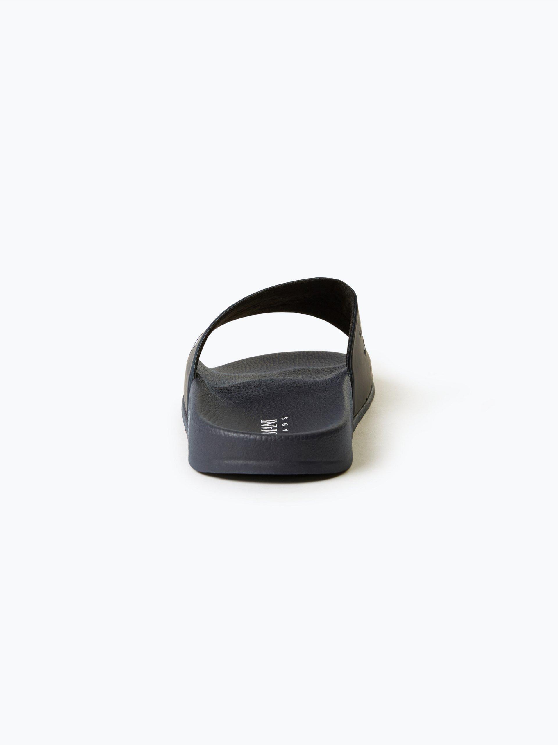 armani jeans herren badeschuhe marine uni online kaufen vangraaf com. Black Bedroom Furniture Sets. Home Design Ideas