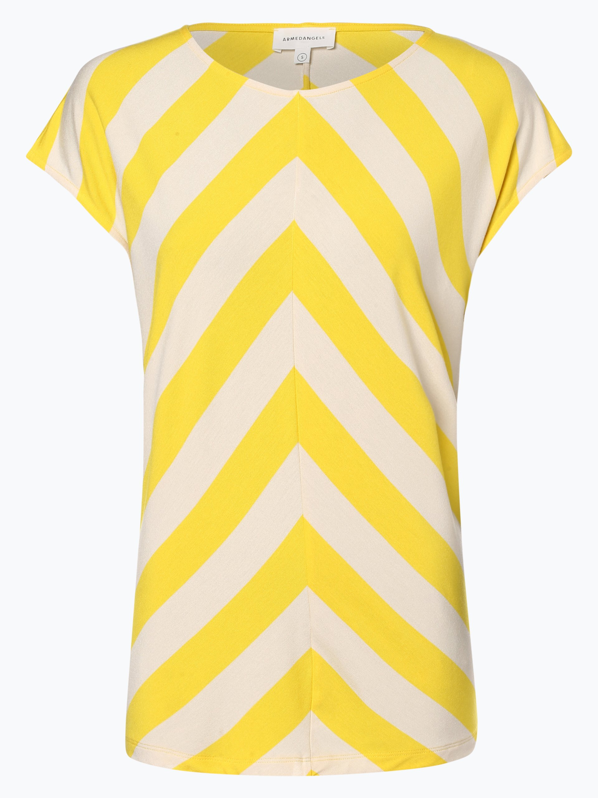 ARMEDANGELS Damen T-Shirt - Elvaa Stripe Mix