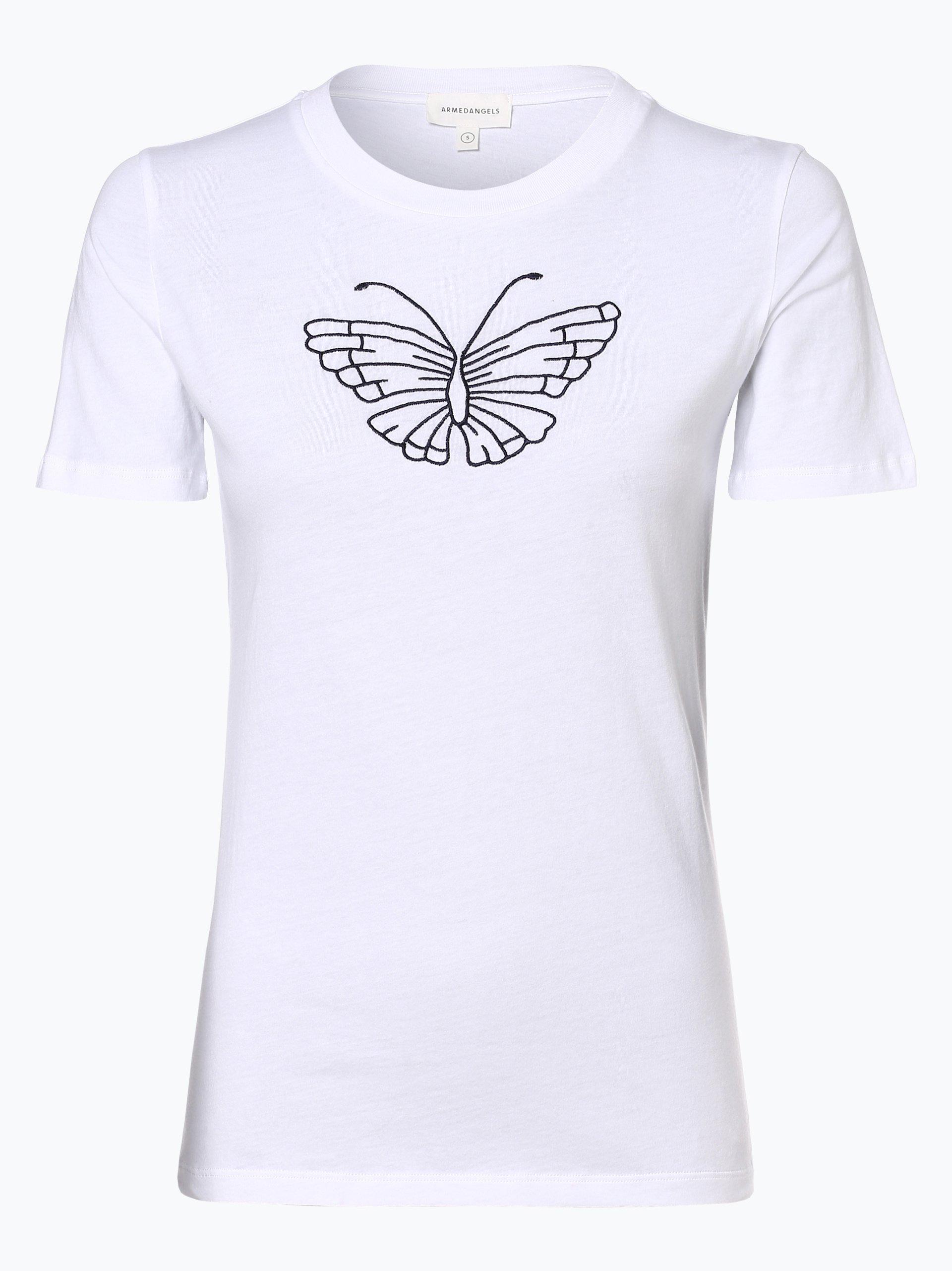 ARMEDANGELS Damen T-Shirt - Lidaa Butterfly