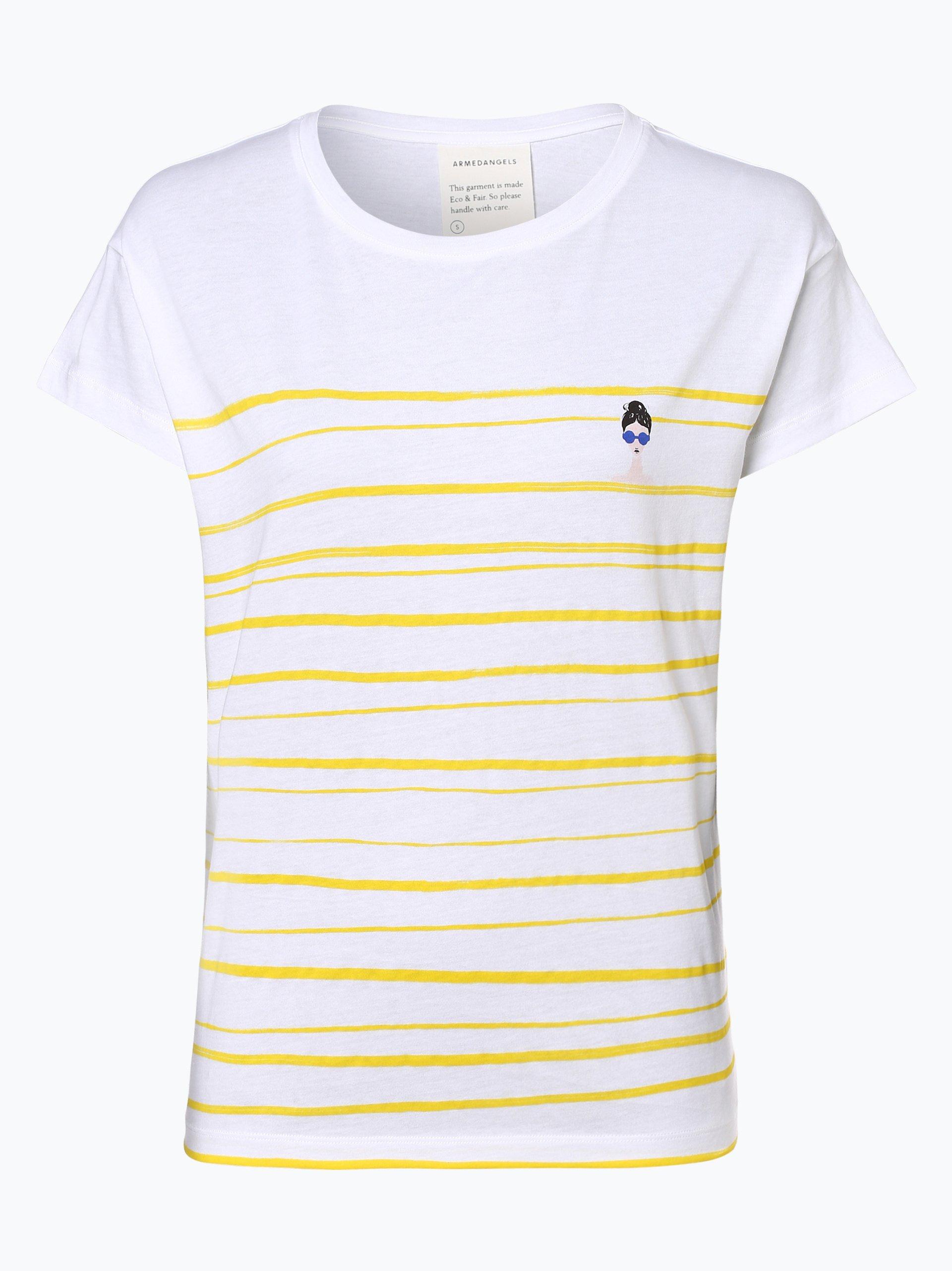 ARMEDANGELS T-shirt damski – Nelaa Woman At The Sea