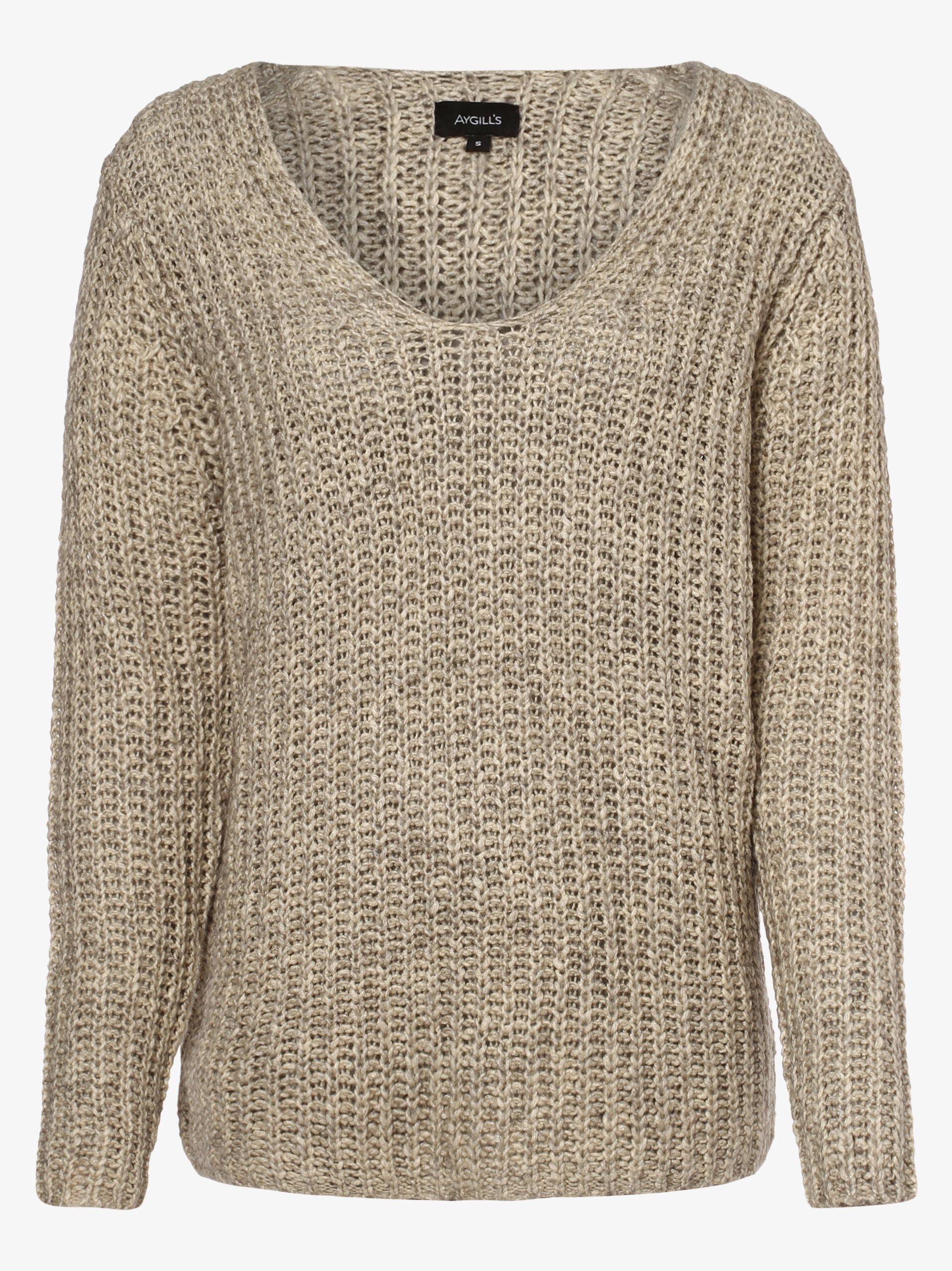 Aygill\'s Damen Pullover mit Woll-Anteil