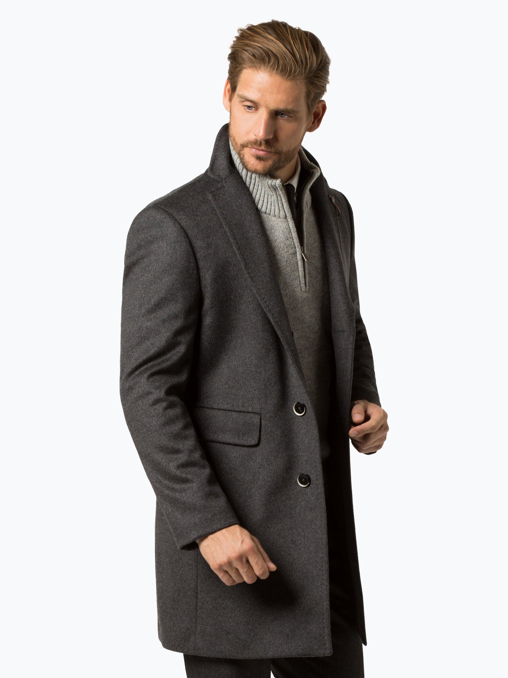 baldessarini herren mantel mit cashmere anteil cedric online kaufen vangraaf com. Black Bedroom Furniture Sets. Home Design Ideas