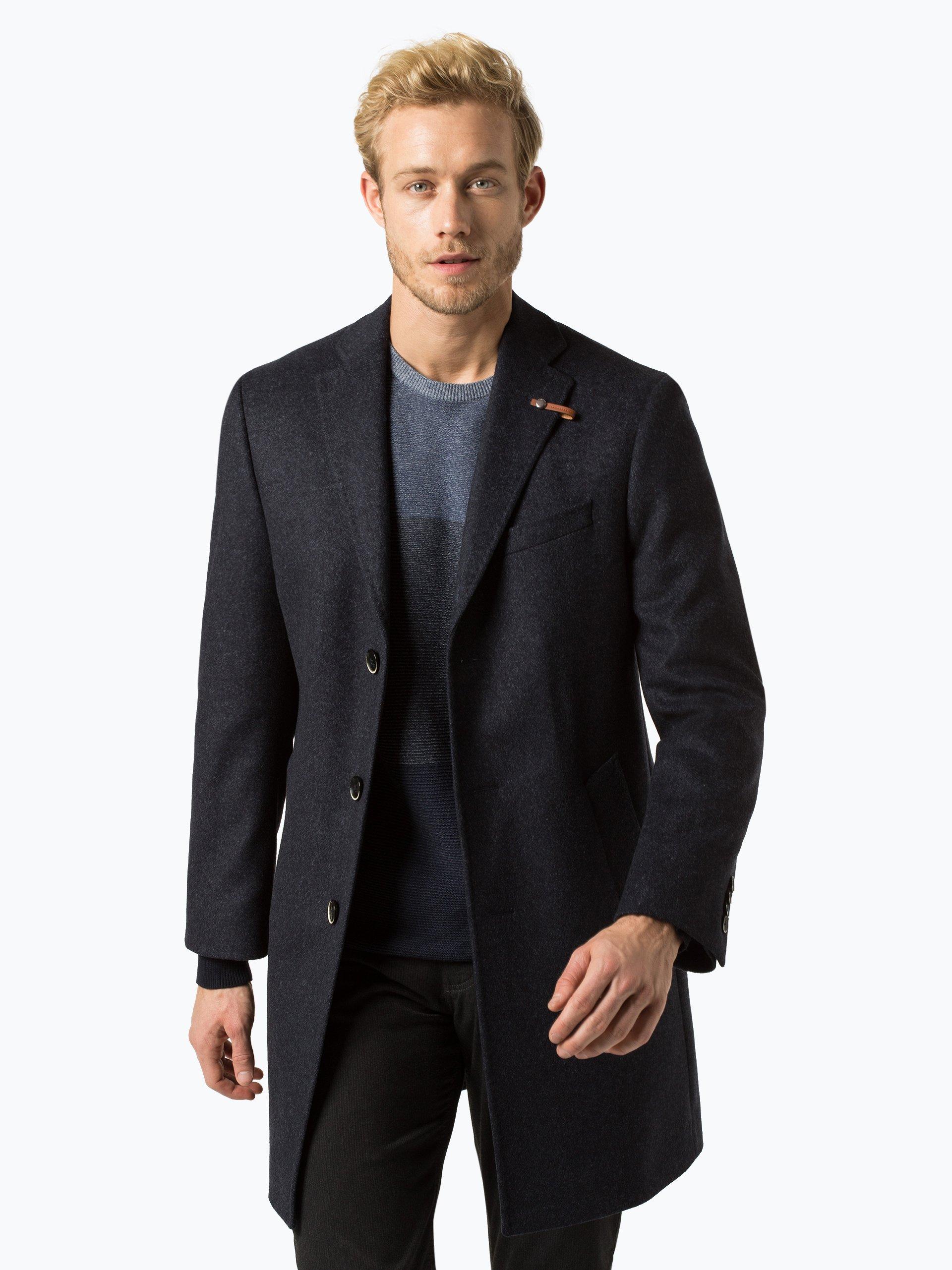 baldessarini herren mantel mit cashmere anteil duncan. Black Bedroom Furniture Sets. Home Design Ideas