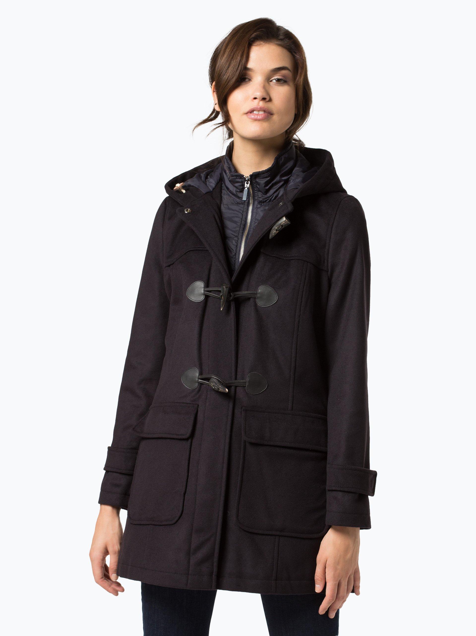 barbour damen mantel mit cashmere anteil marine uni online kaufen peek und cloppenburg de. Black Bedroom Furniture Sets. Home Design Ideas
