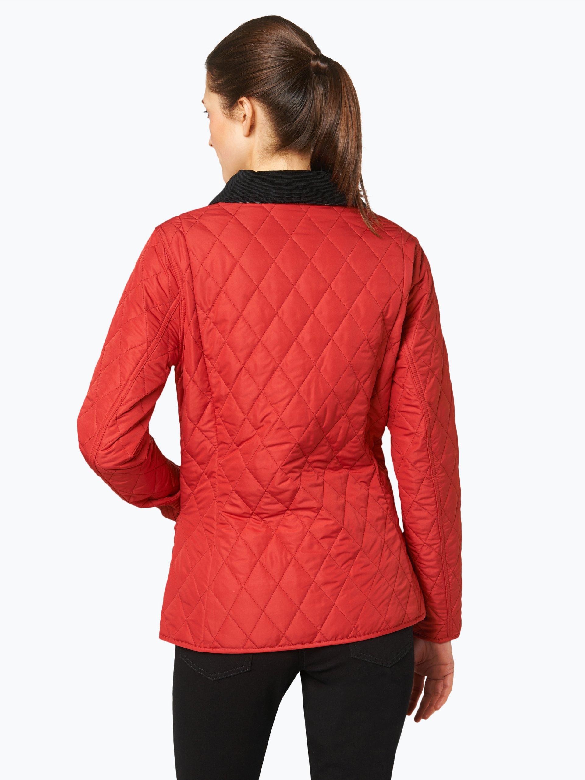 barbour damen steppjacke rot uni online kaufen peek und cloppenburg de. Black Bedroom Furniture Sets. Home Design Ideas