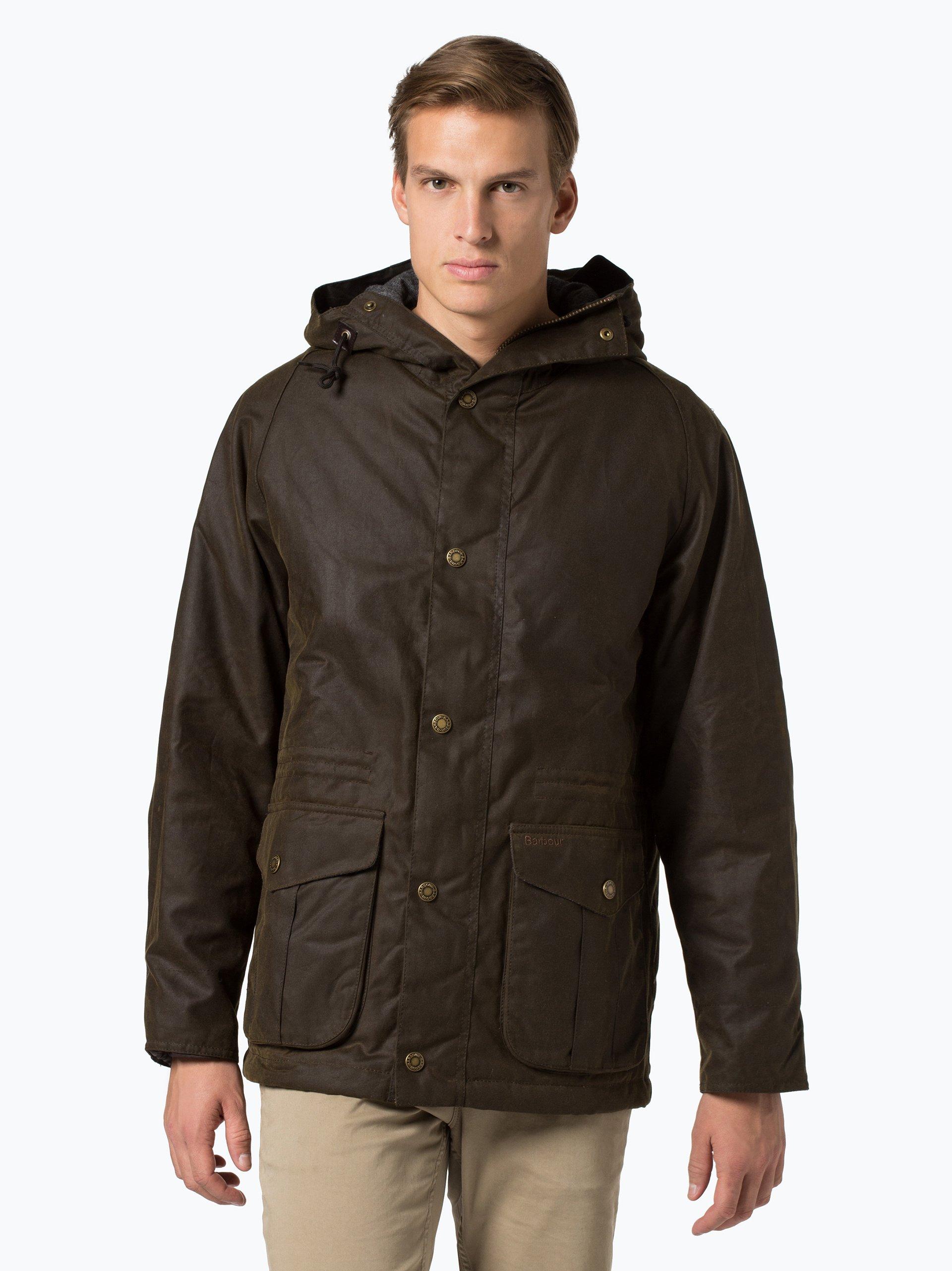 barbour herren jacke bryn jacket oliv uni online kaufen vangraaf com. Black Bedroom Furniture Sets. Home Design Ideas