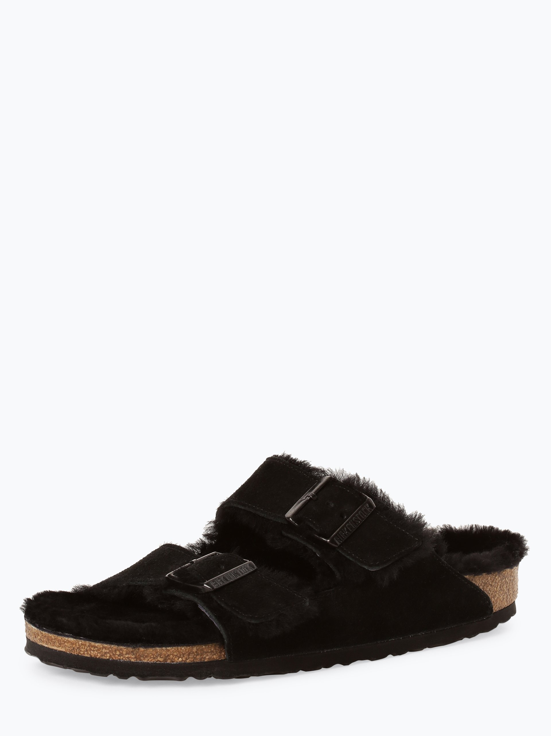 Birkenstock Damen Sandalen aus Leder - Arizona Fur