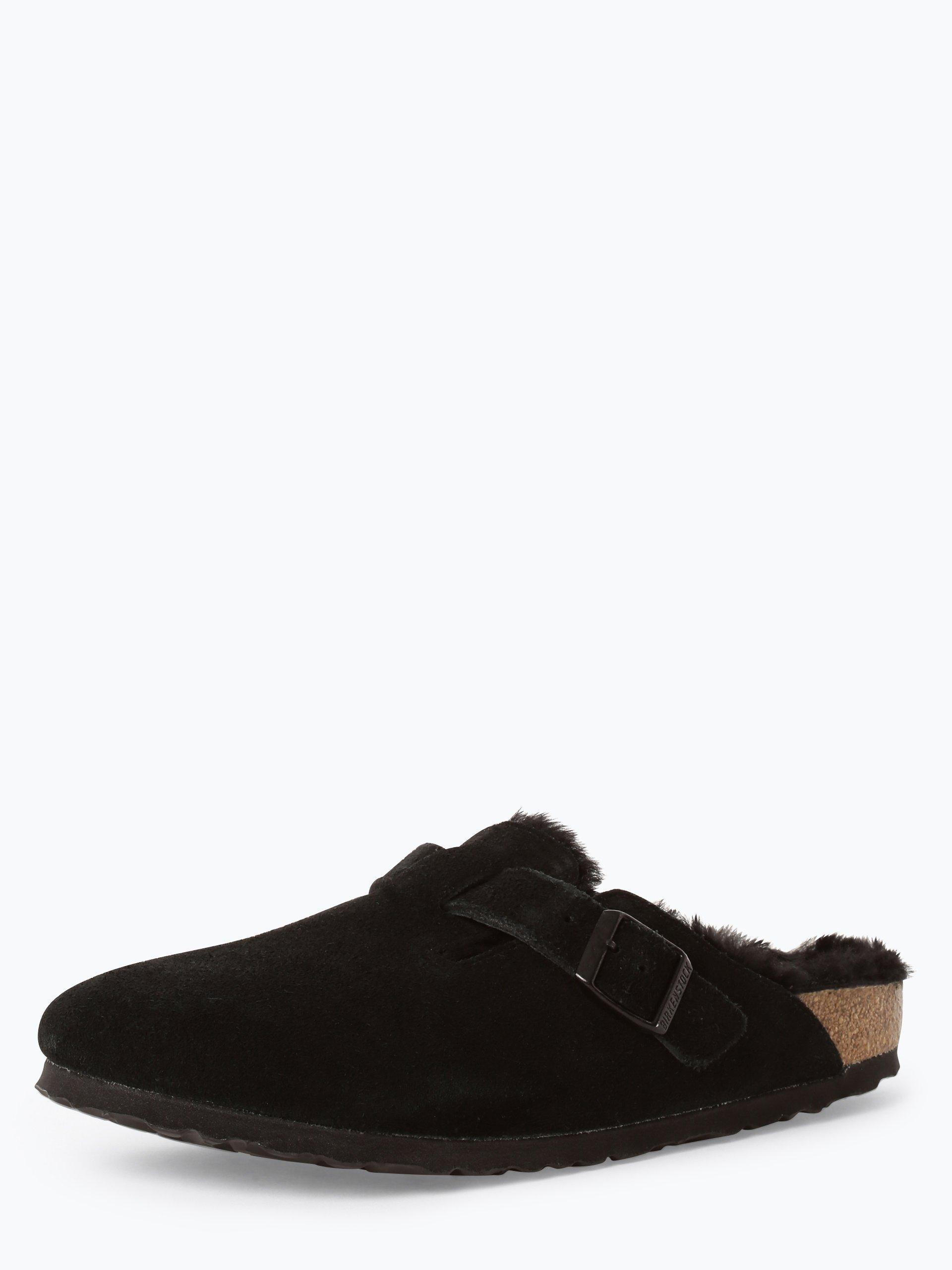 Birkenstock Damen Sandalen aus Leder - Boston Fur