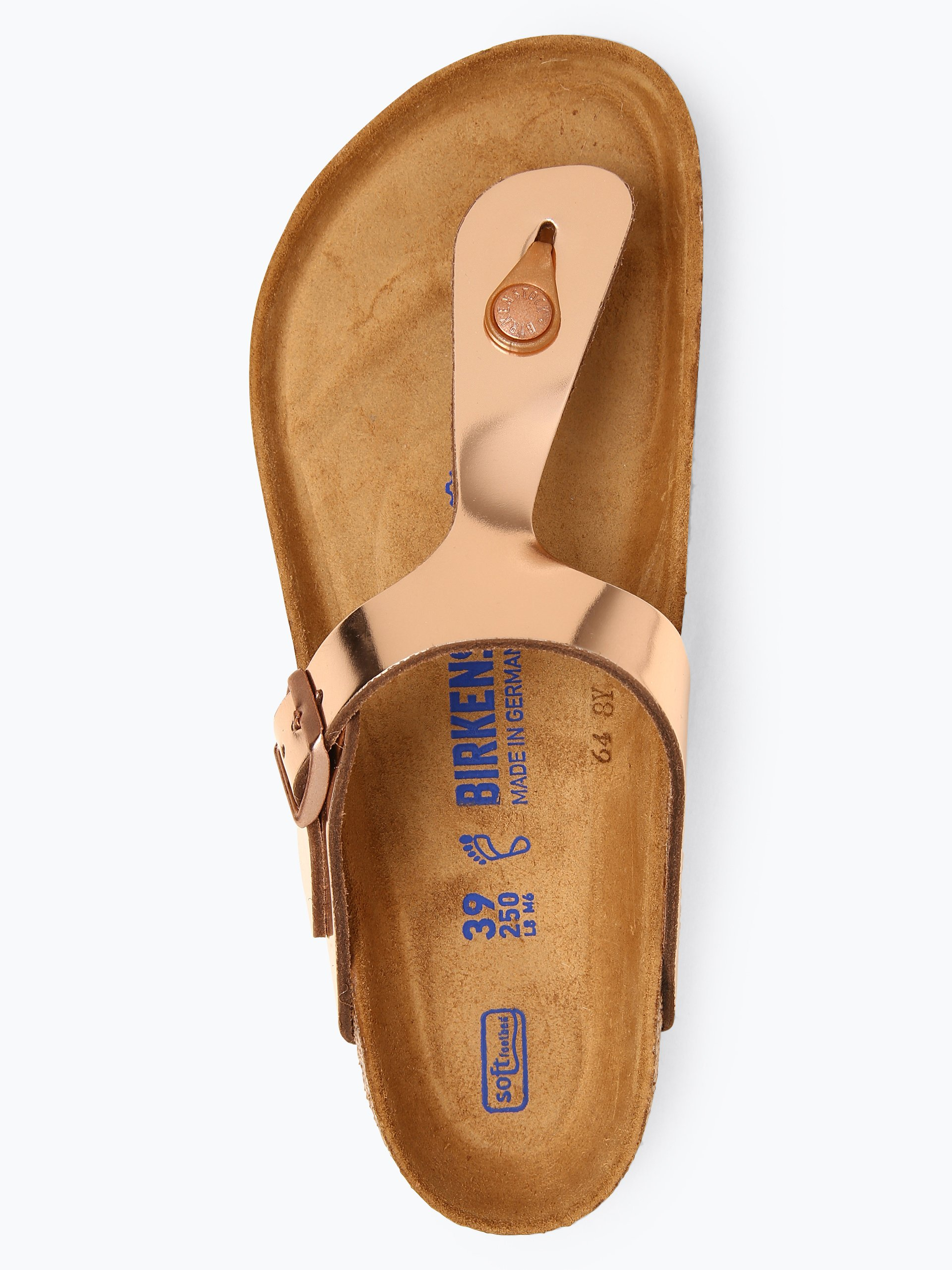 Birkenstock Damen Sandalen aus Leder - Gizeh BS
