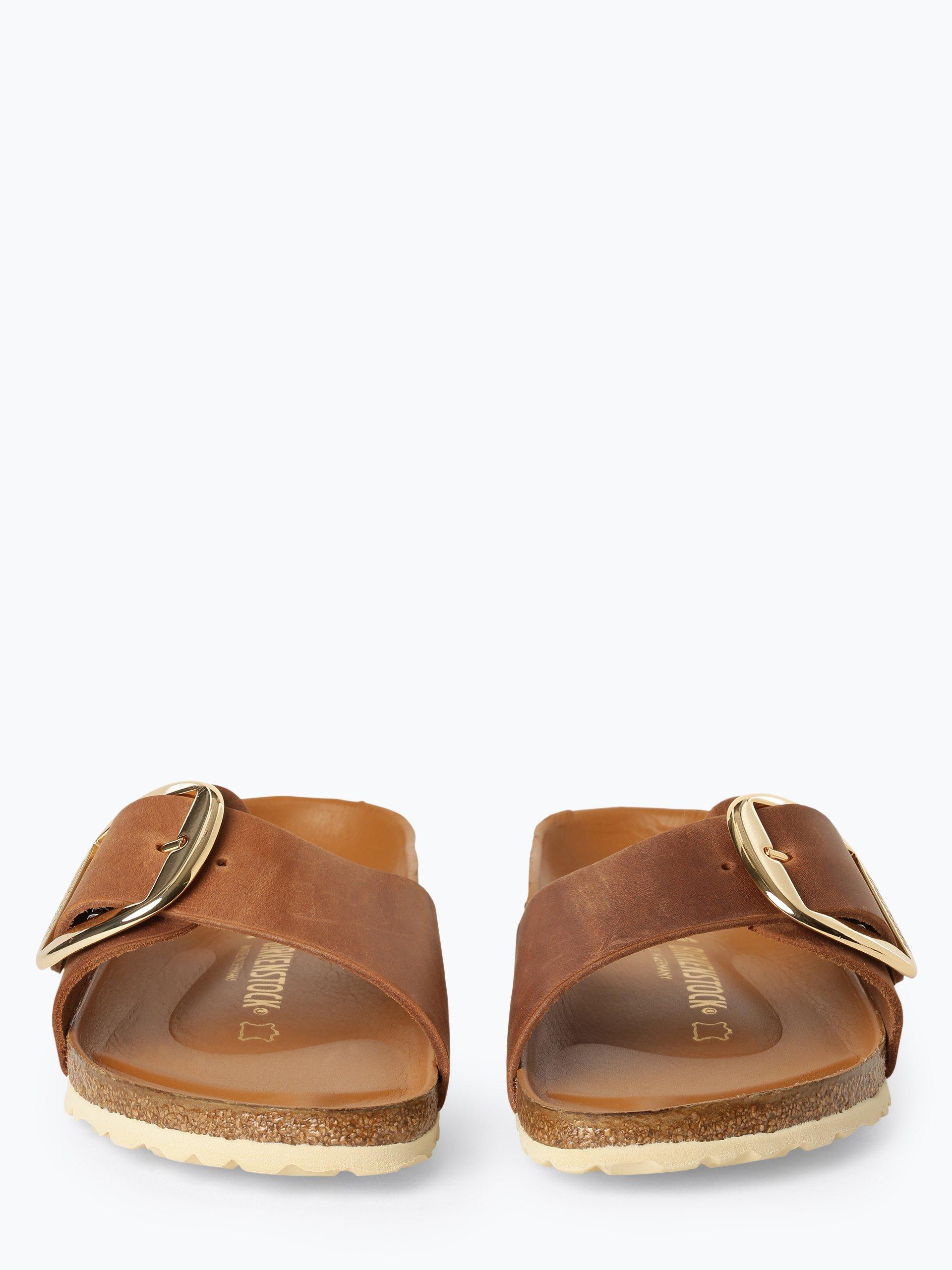 Birkenstock Damen Sandalen aus Leder - Madrid Big Buckle