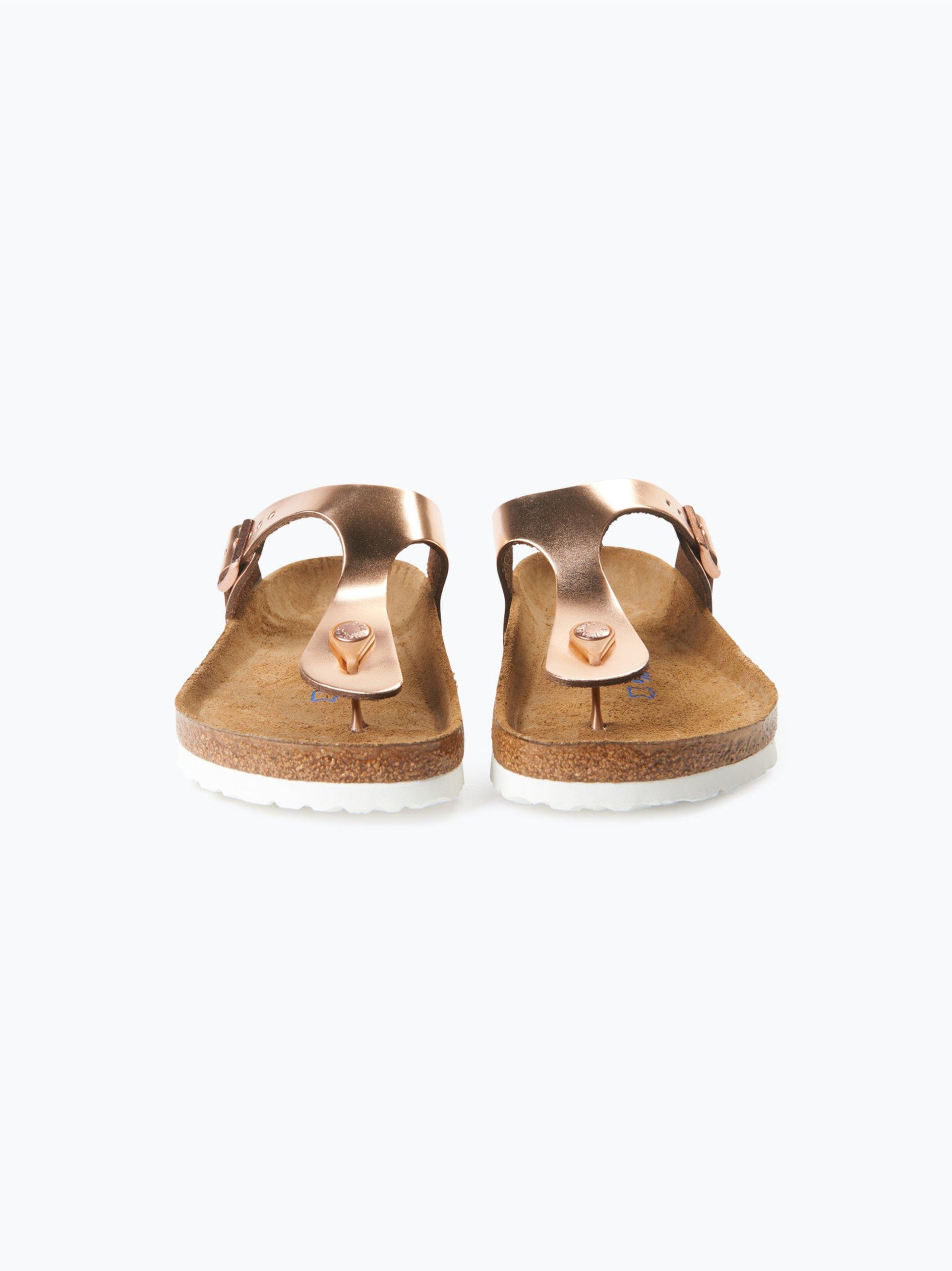 birkenstock damen sandalen aus leder rosenholz uni online. Black Bedroom Furniture Sets. Home Design Ideas