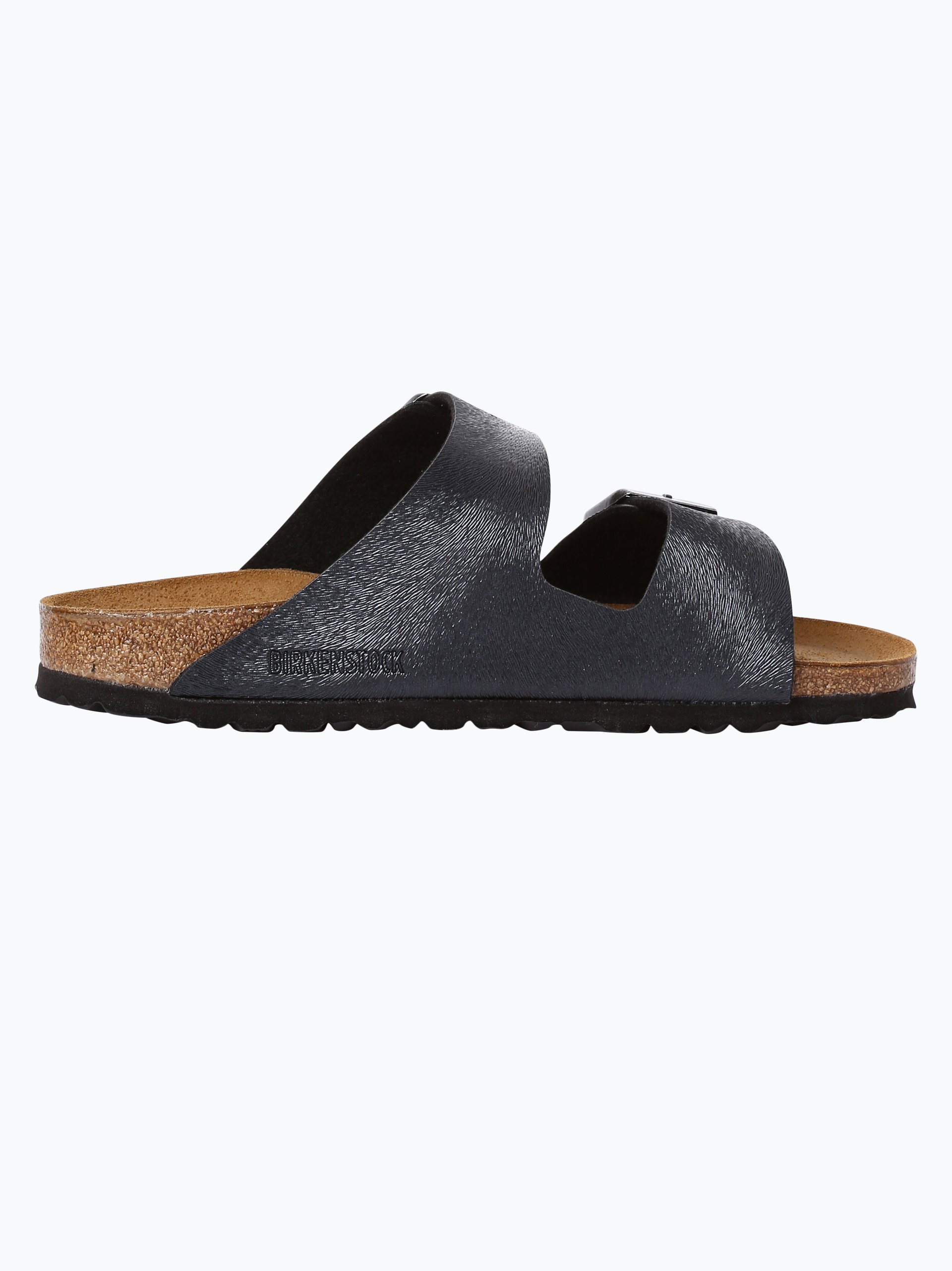 birkenstock damen sandalen mit leder anteil arizona bs anthrazit uni online kaufen vangraaf com. Black Bedroom Furniture Sets. Home Design Ideas