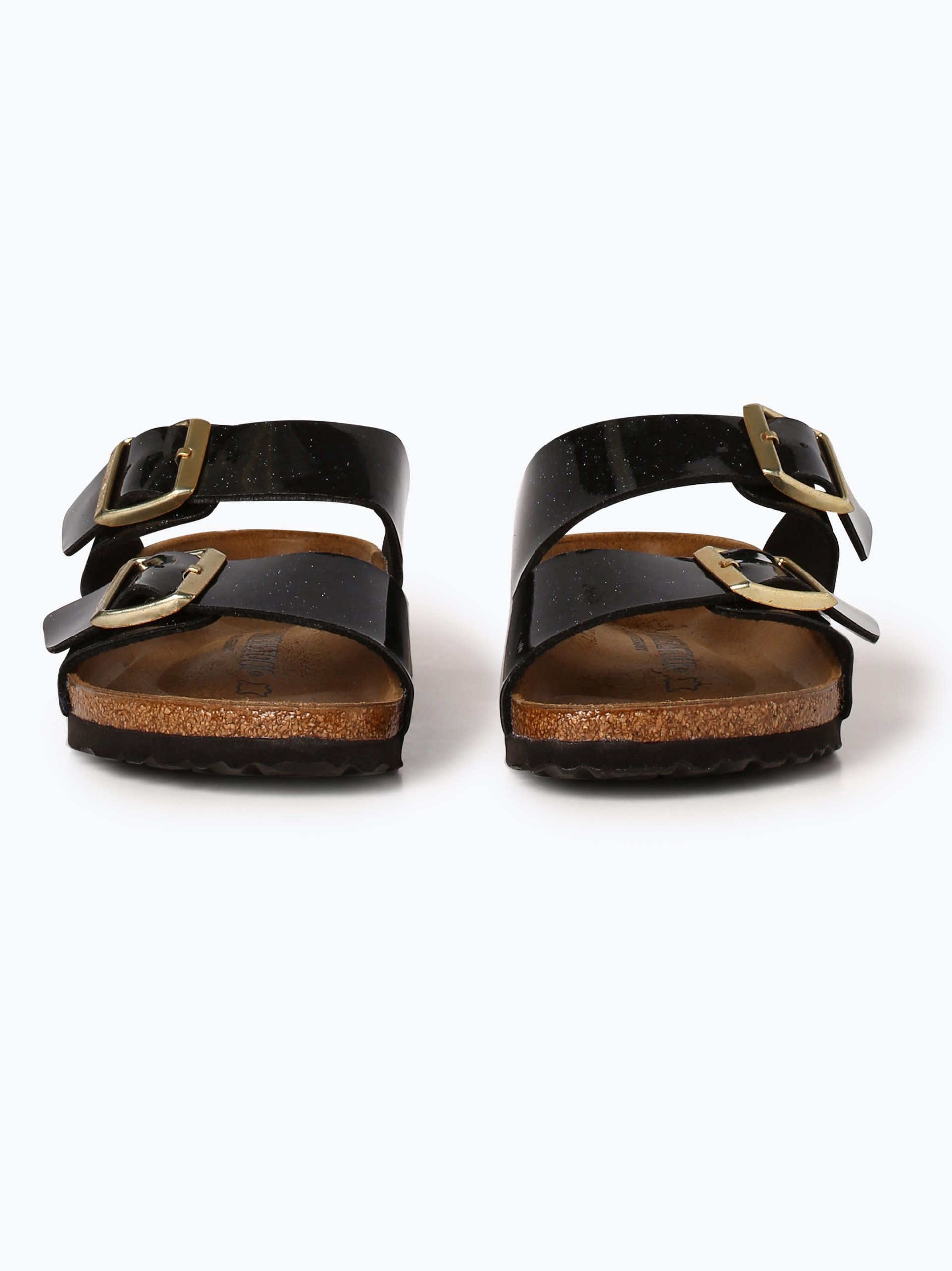 birkenstock damen sandalen mit leder anteil arizona bs schwarz gemustert online kaufen. Black Bedroom Furniture Sets. Home Design Ideas