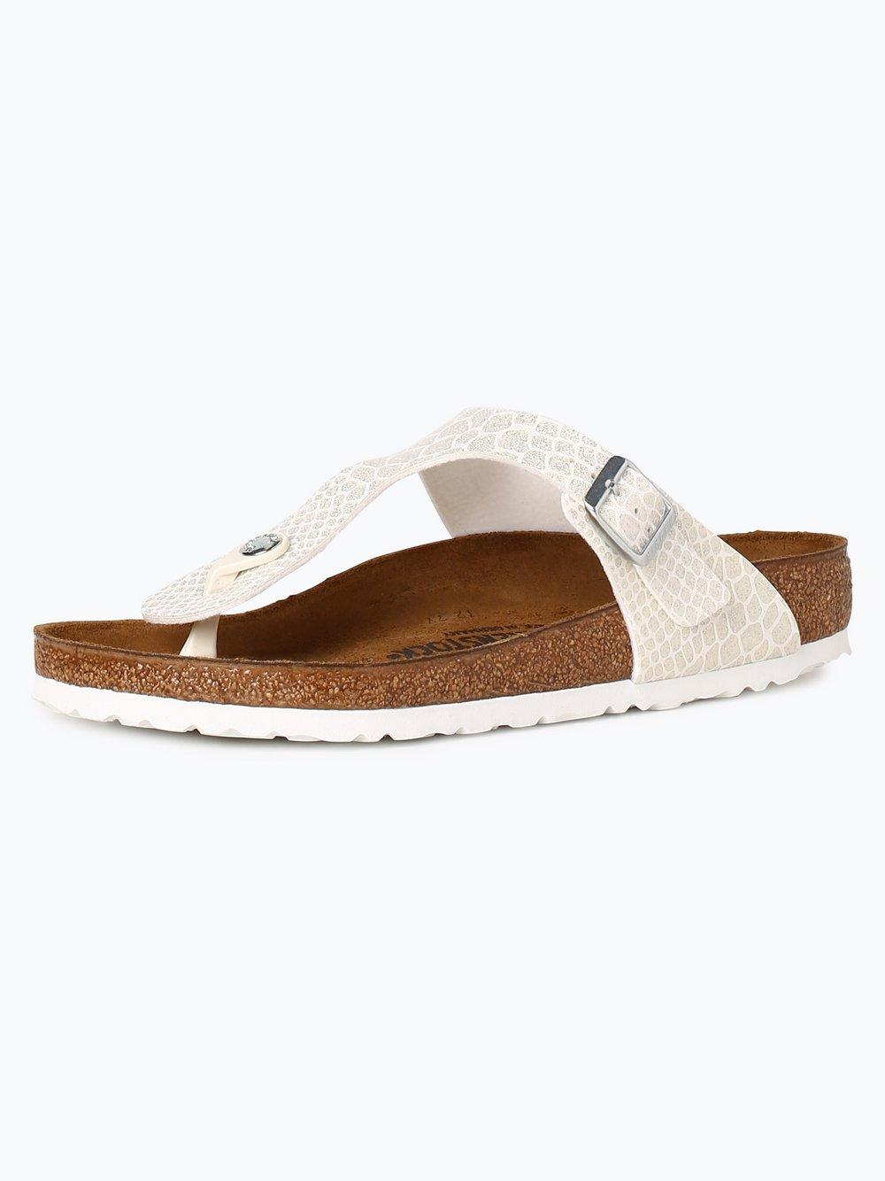 Birkenstock Damen Sandalen mit Leder Anteil Gizeh BS