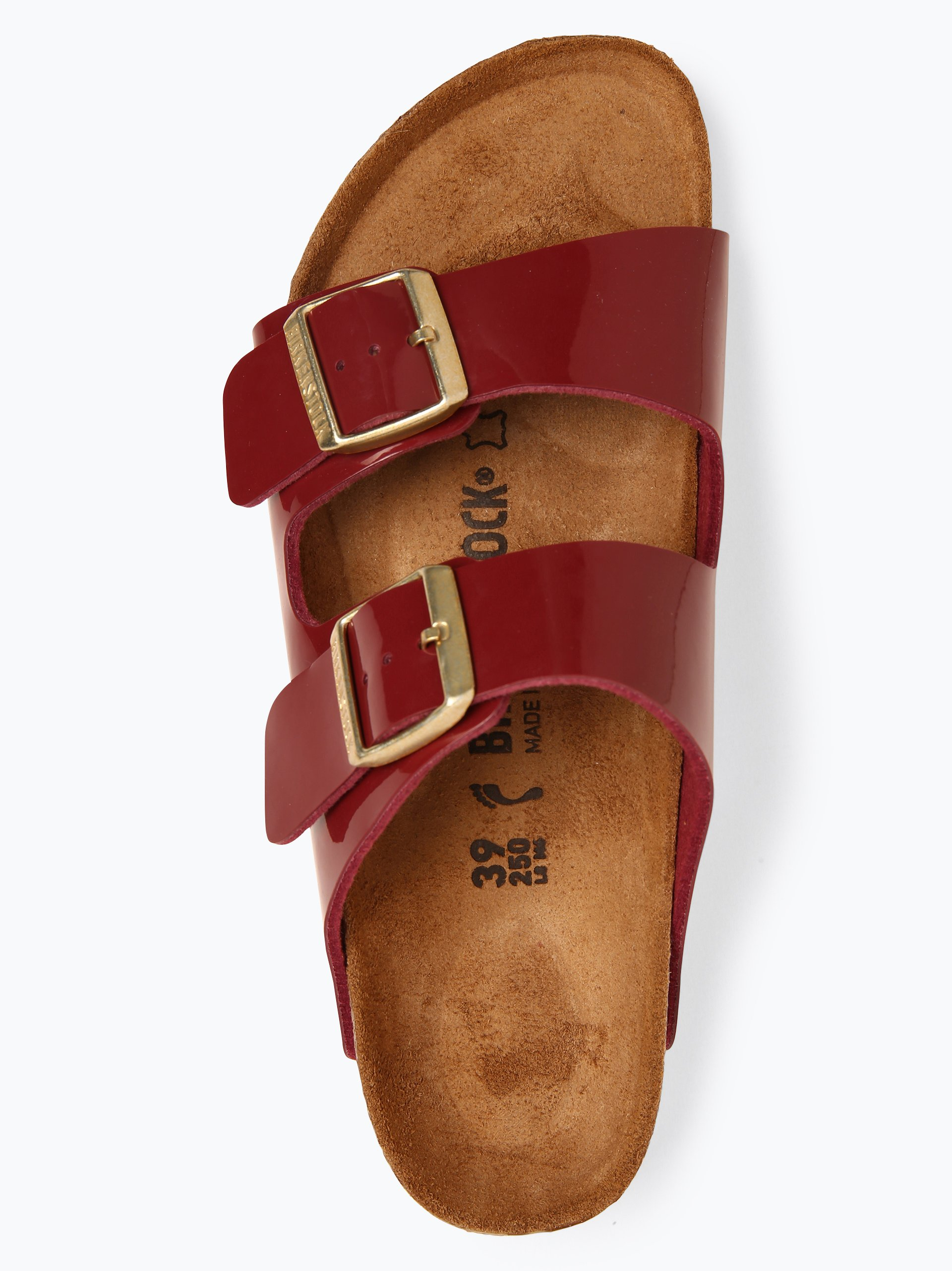 Birkenstock Sandały damskie z dodatkiem skóry – Arizona BS