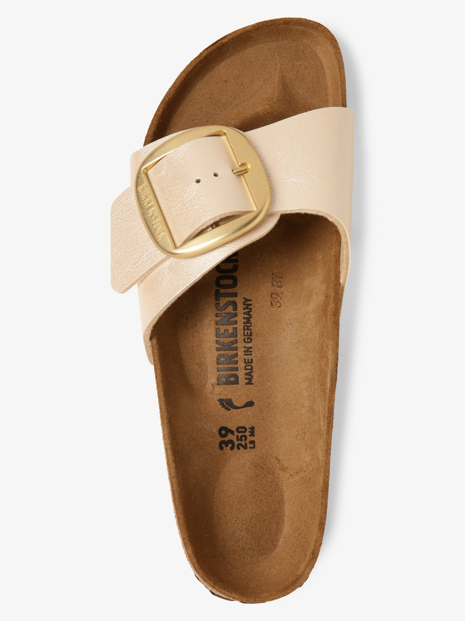 Birkenstock Sandały damskie ze skóry – Madrid Big Buckle