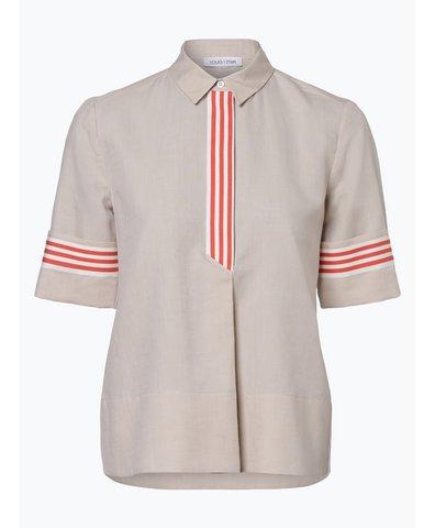 Bluzka damska z dodatkiem lnu