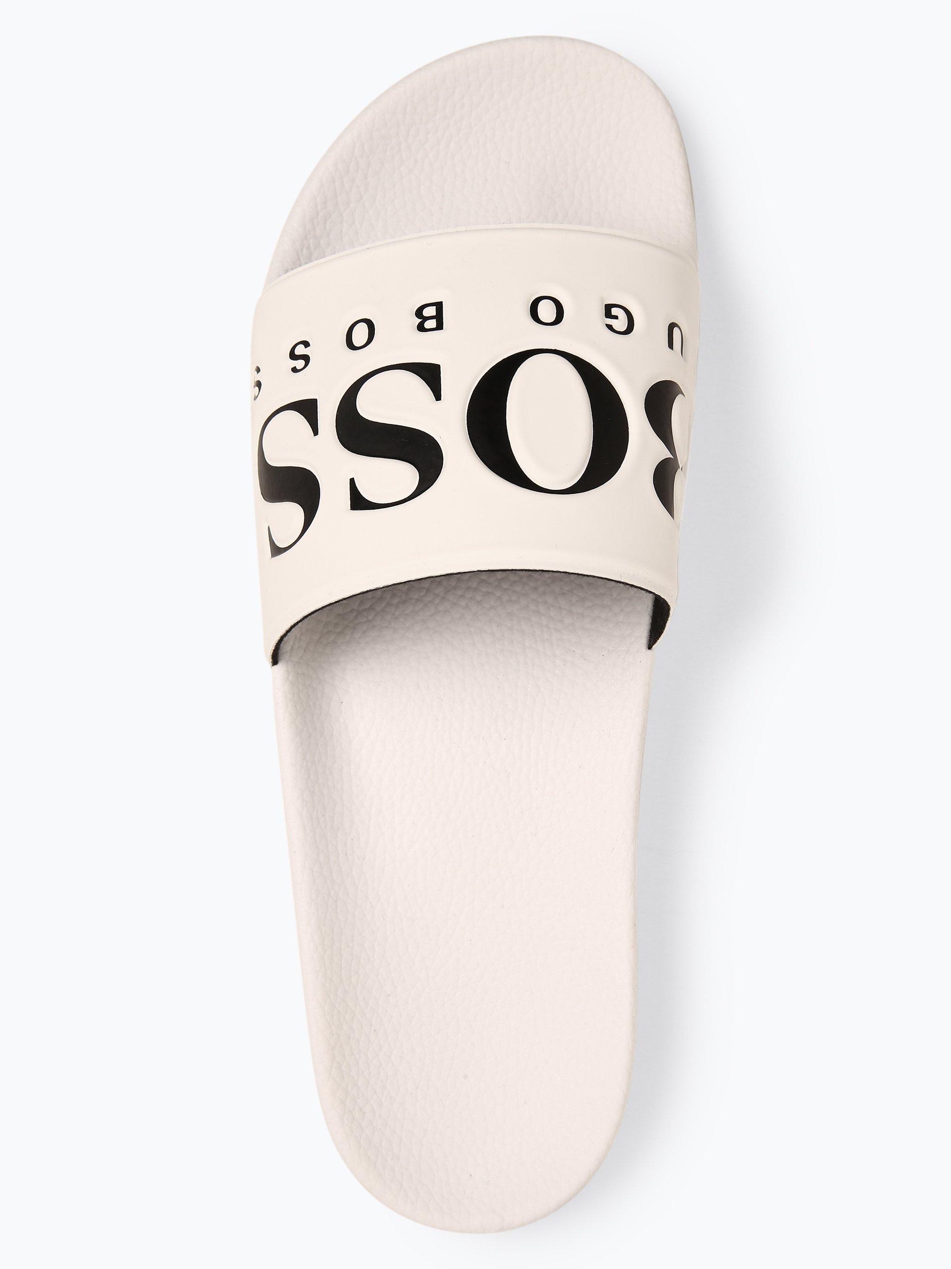 BOSS Athleisure Herren Badeschuhe - Solar_Slid_logo