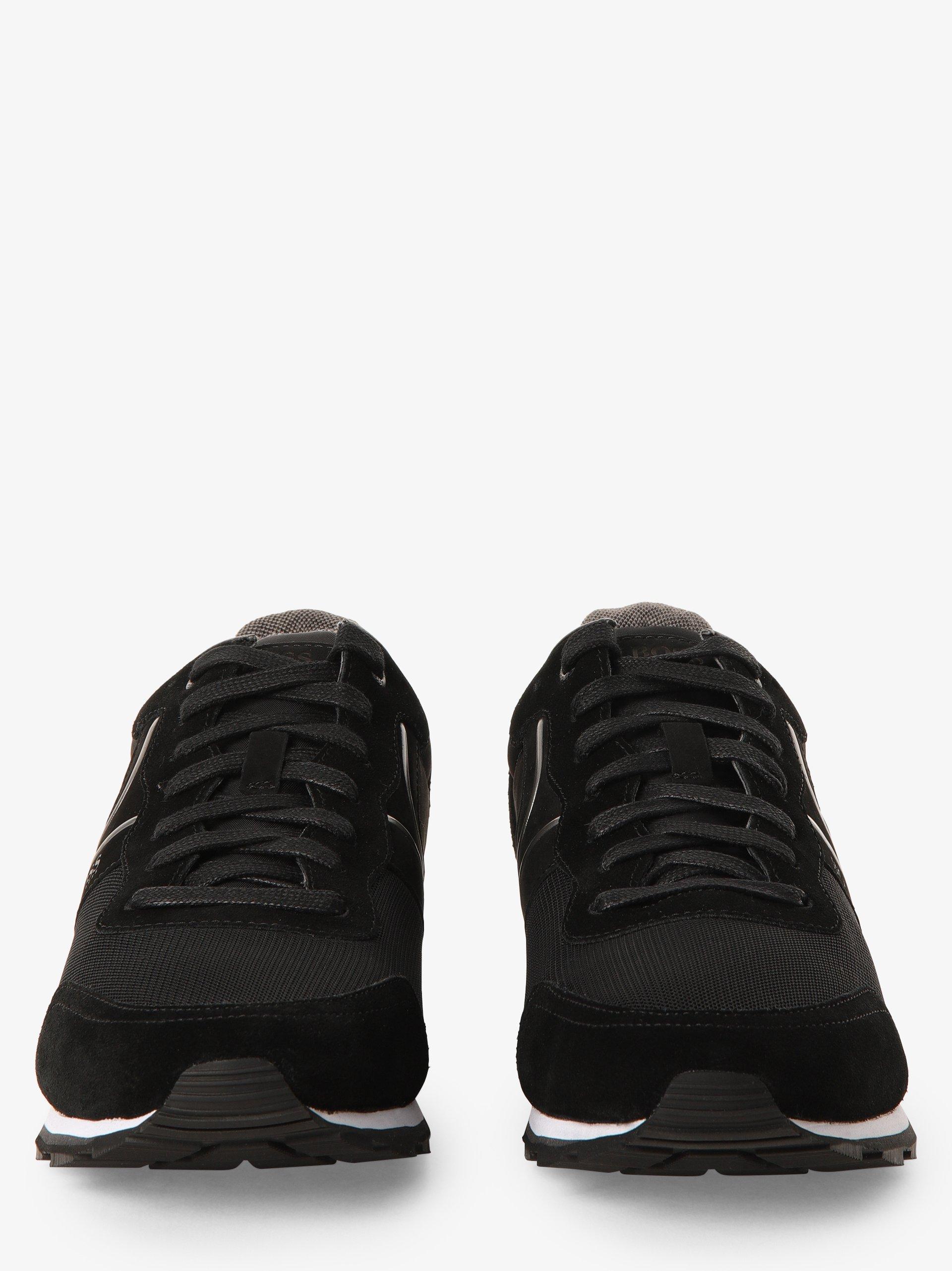 BOSS Athleisure Herren Sneaker mit Leder-Anteil - Parkour_Runn_nymx2