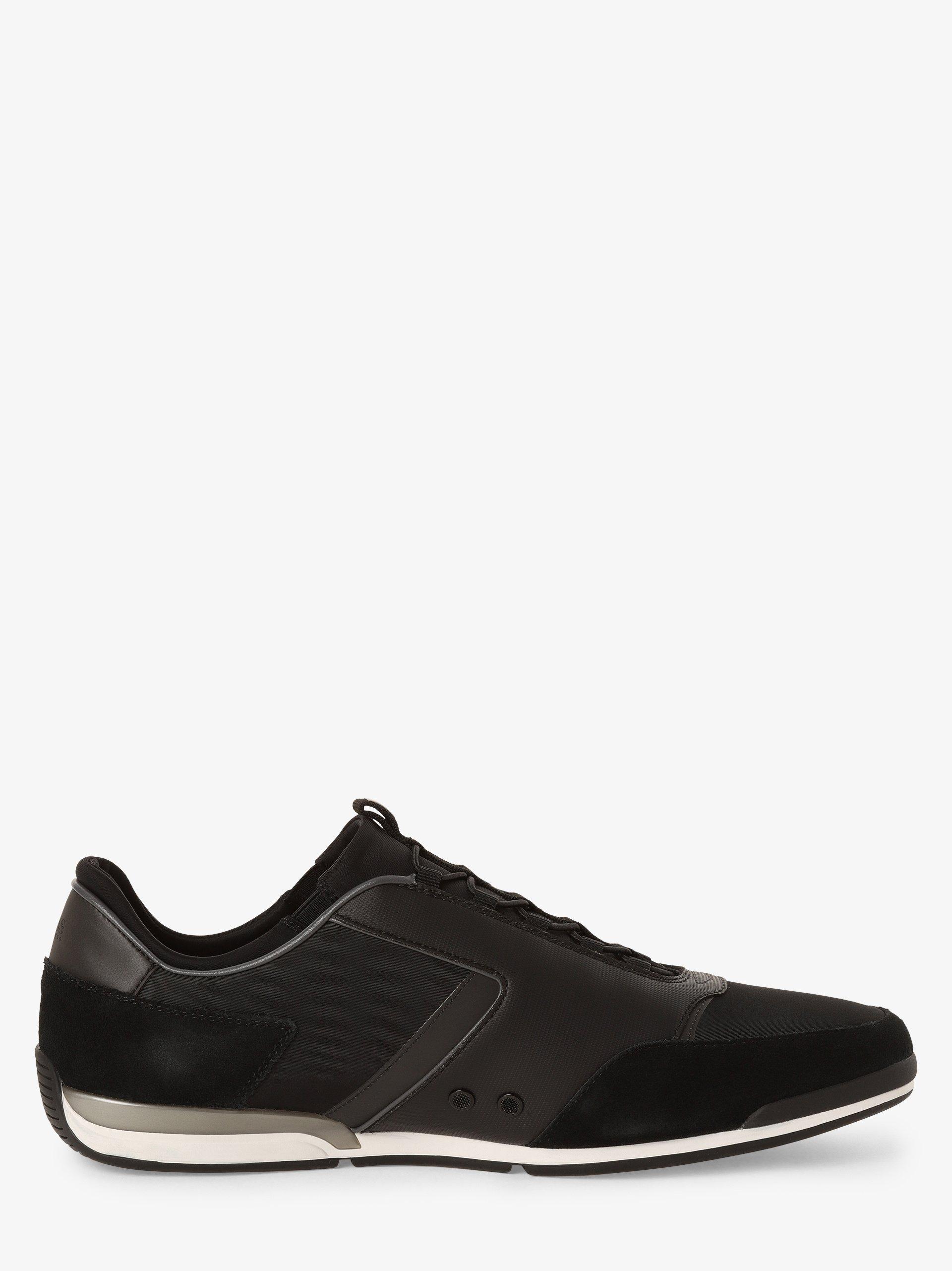 BOSS Athleisure Herren Sneaker mit Leder-Anteil - Saturn_Slon_nymx