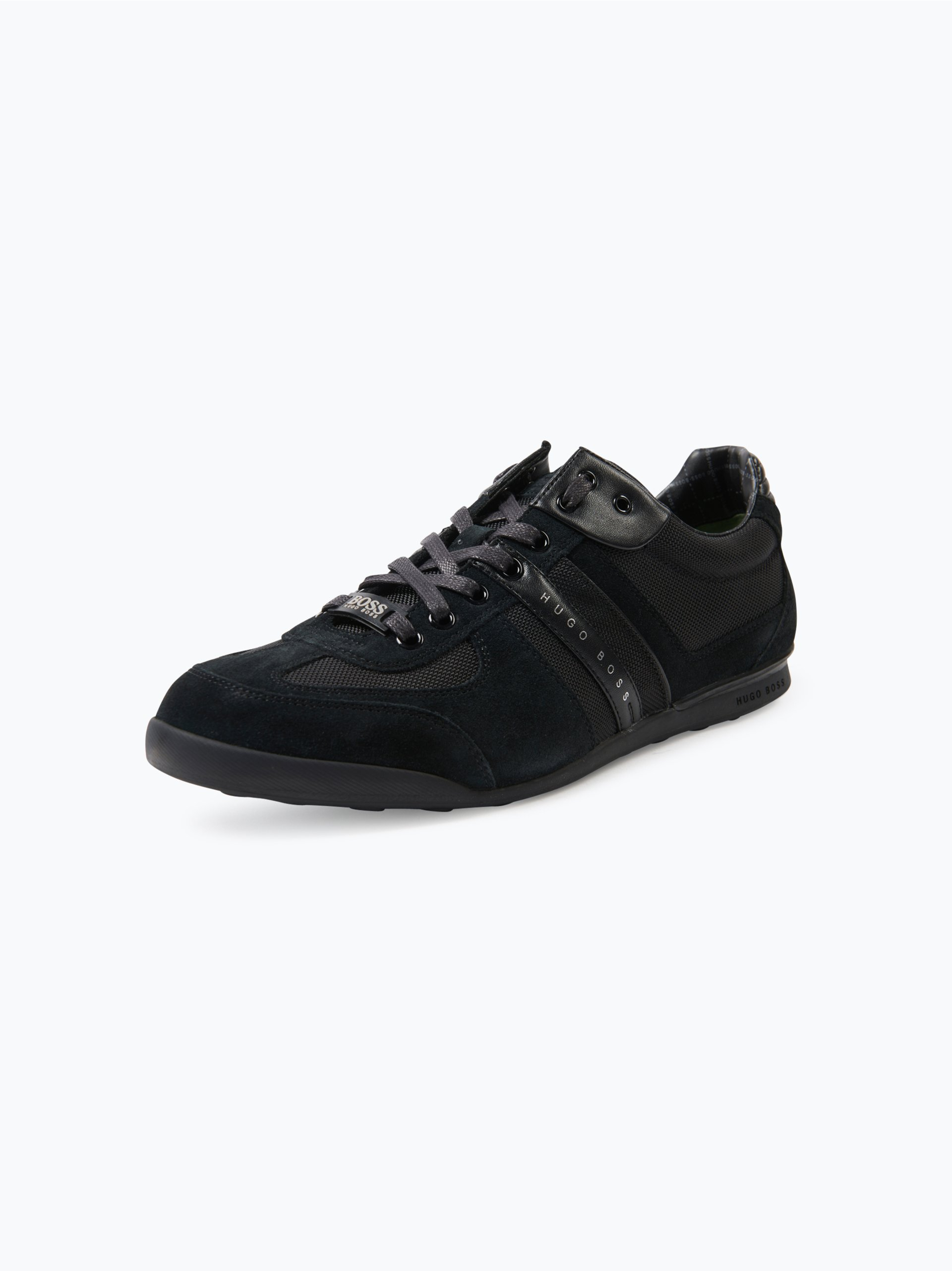 BOSS Athleisure Herren Sneaker mit Leder-Besatz - Akeen