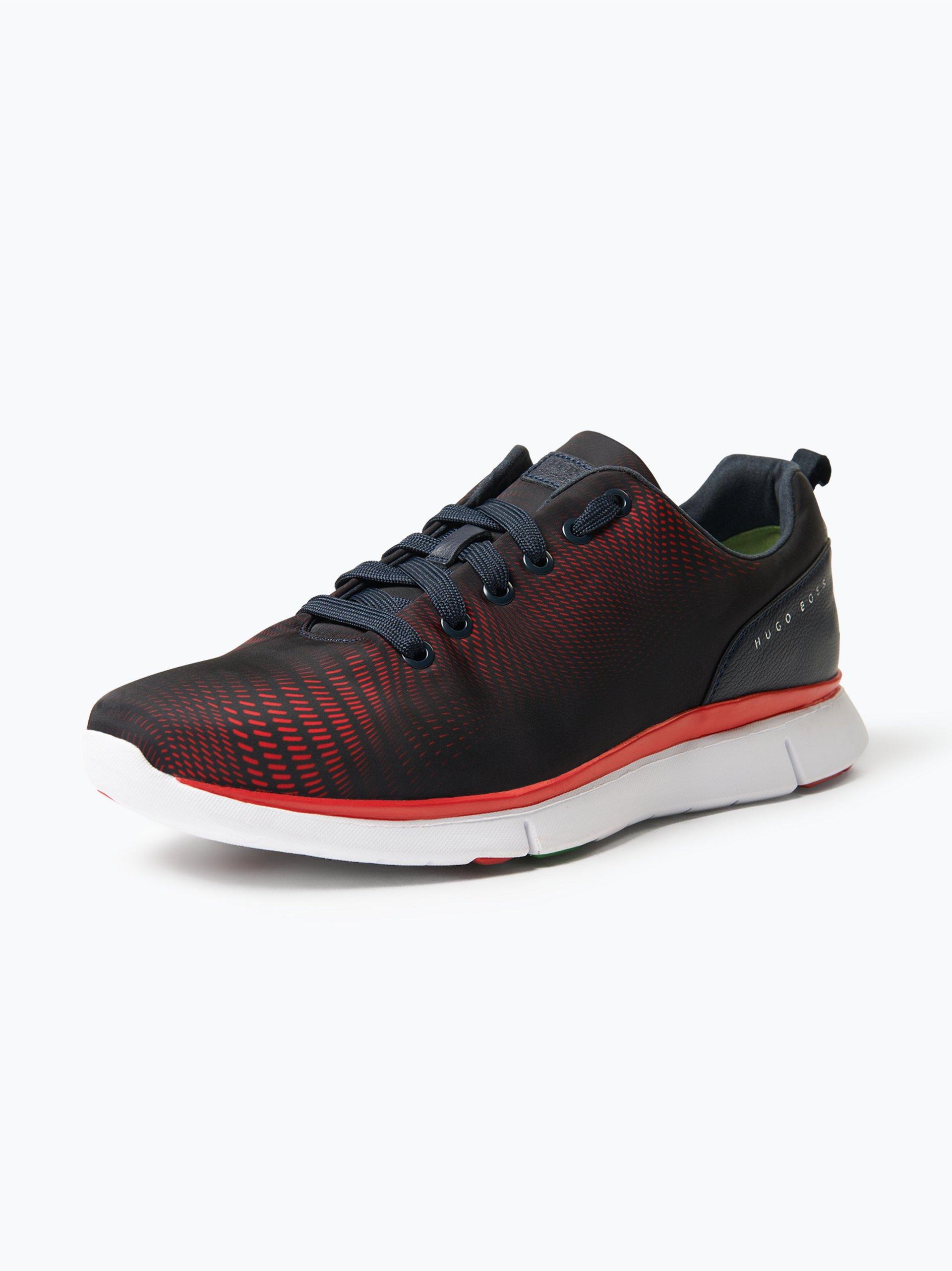 BOSS Athleisure Herren Sneaker mit Leder-Besatz - Gym_Runn_nypr1