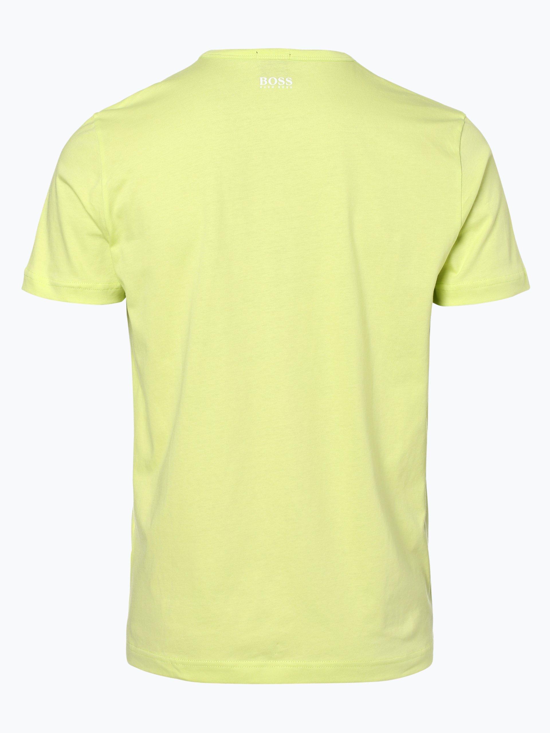 boss athleisure herren t shirt tee 1 gelb limone uni. Black Bedroom Furniture Sets. Home Design Ideas